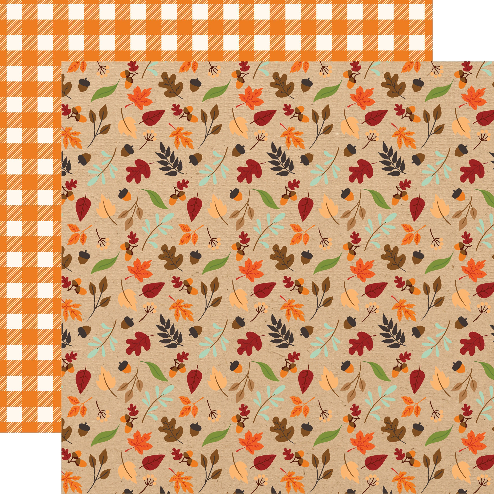 My Favorite Fall Double-Sided Cardstock 12X12-Fall Breeze