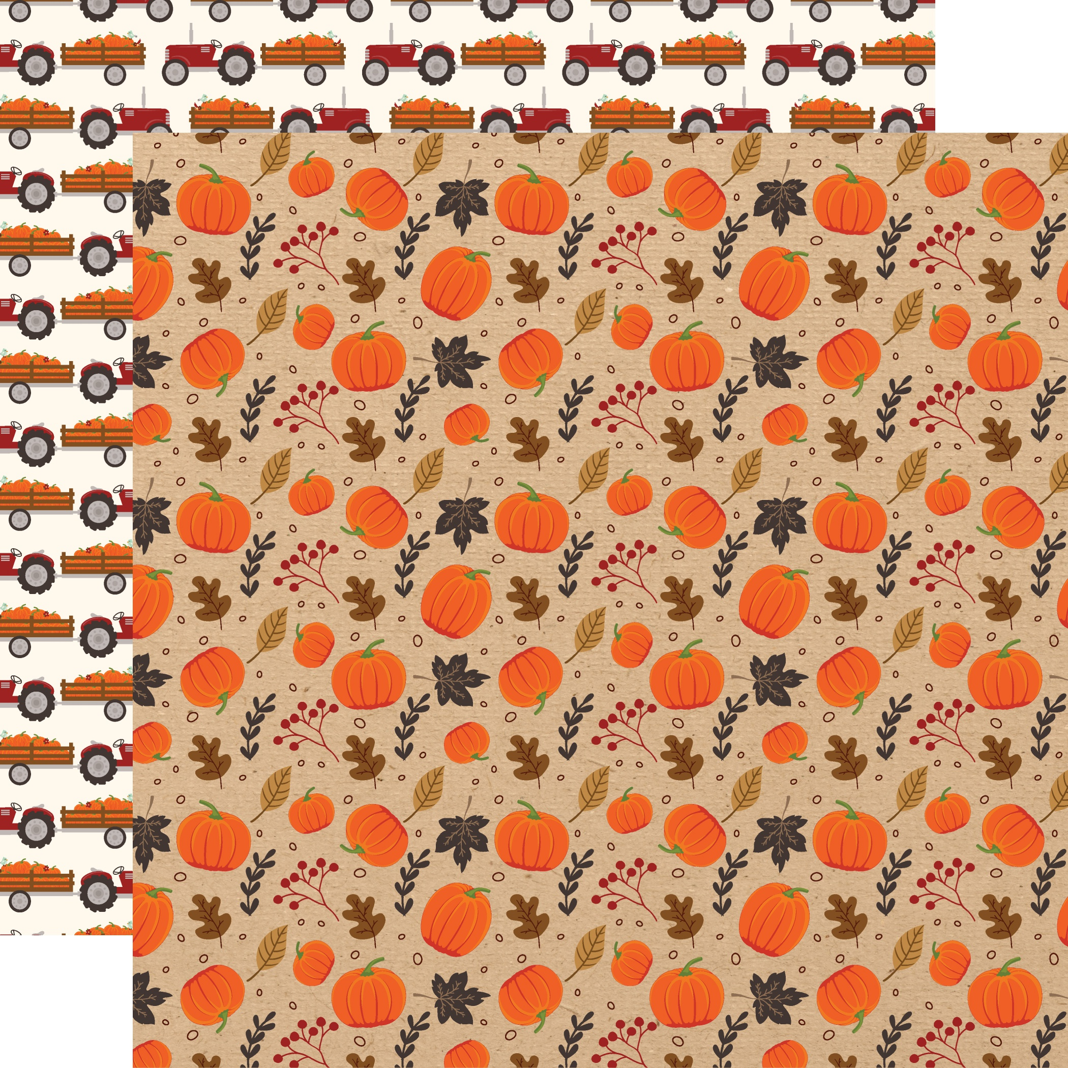 My Favorite Fall Double-Sided Cardstock 12X12-Pumpkin Patch