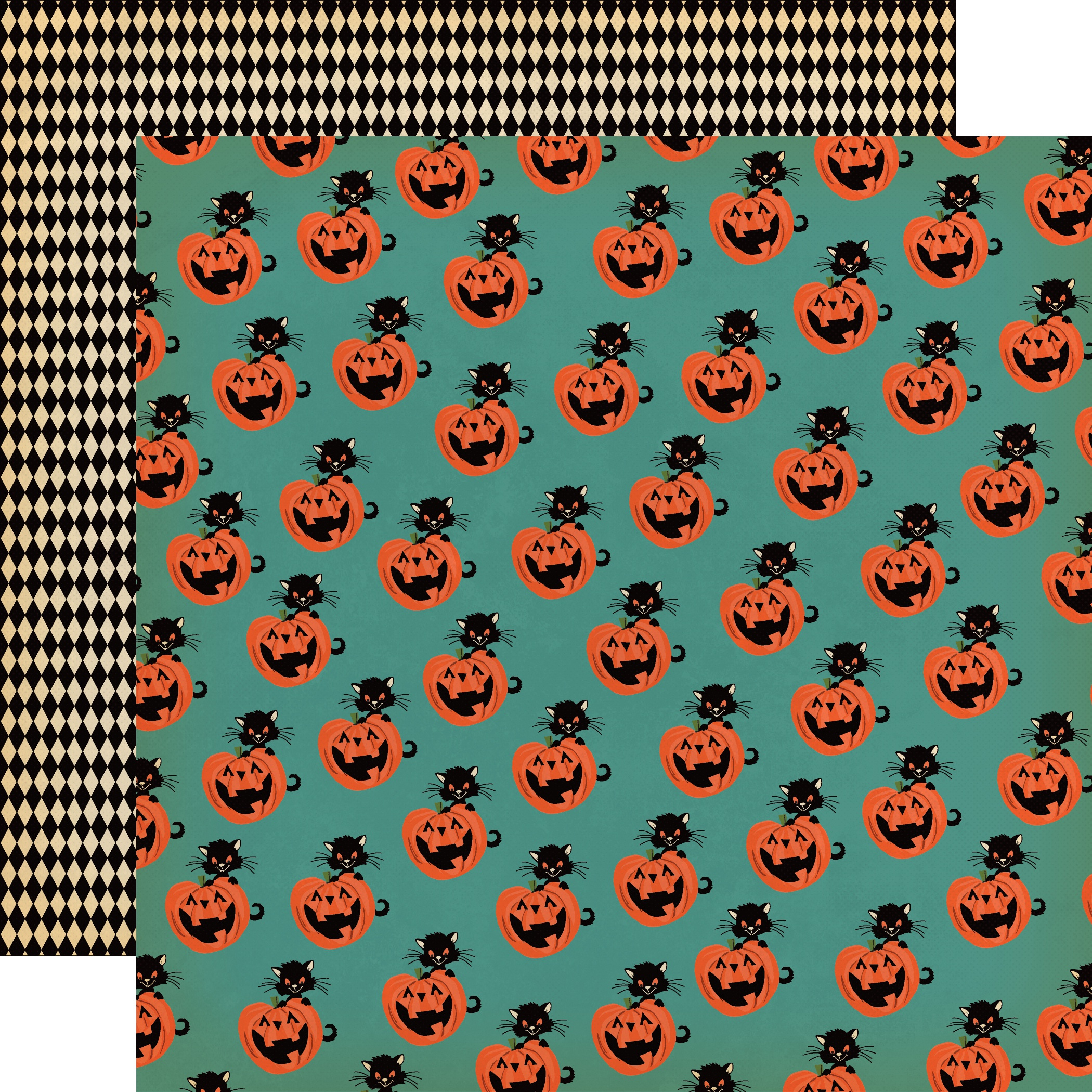 Happy Halloween Double-Sided Cardstock 12X12-Toil & Trouble