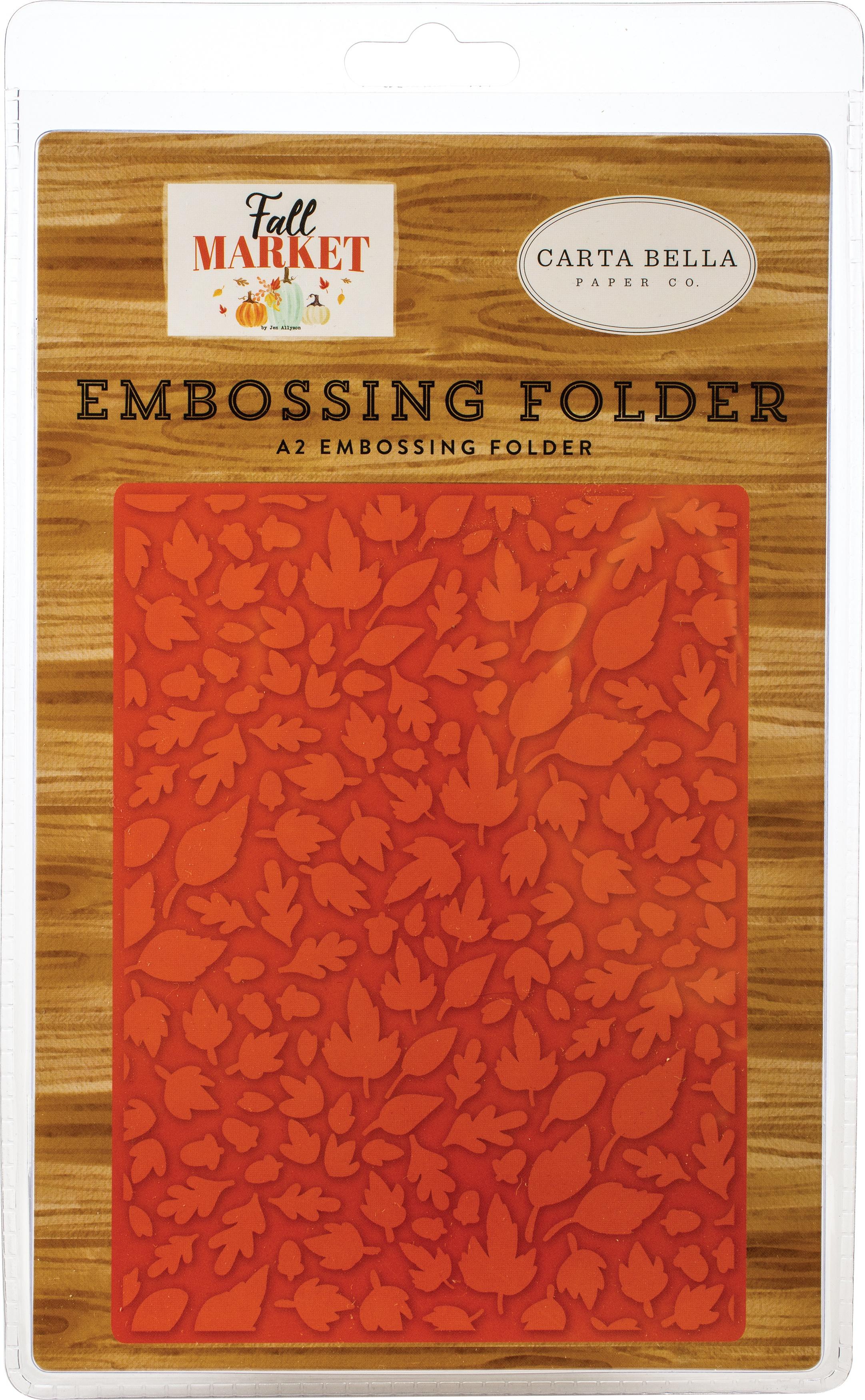 Carta Bella Embossing Folder A2-Welcome Autumn