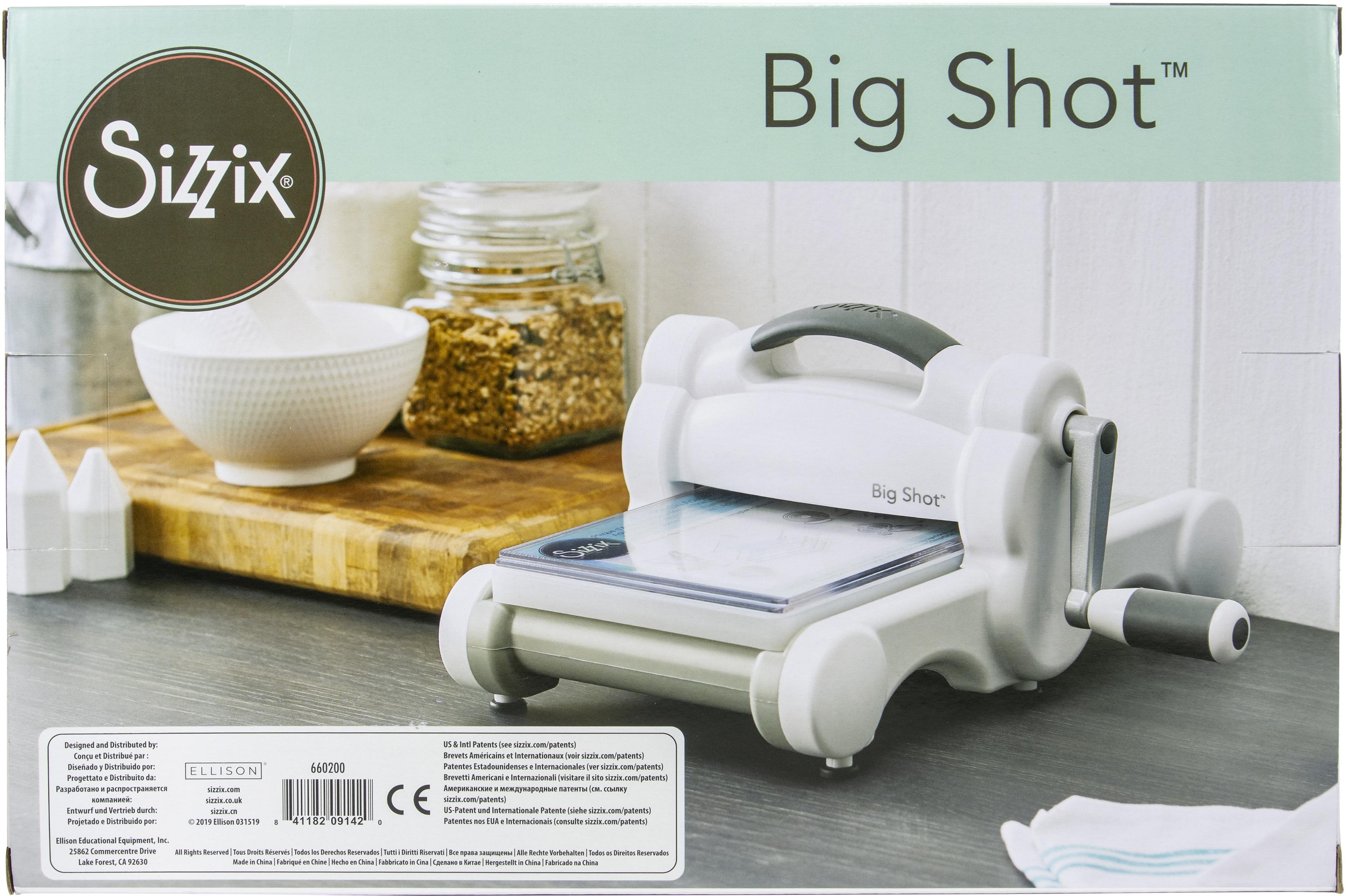 Sizzix Big Shot Machine-White W/Gray