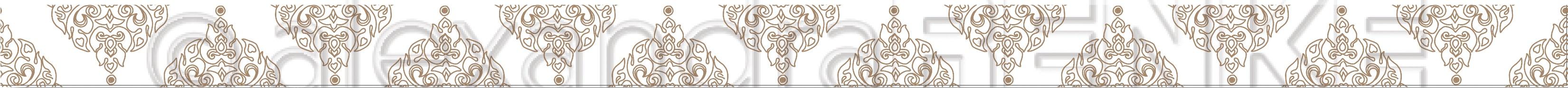 Alexandra Renke Washi Tape 20mmX10m-Balanced Gold Border, Ornamentic 2