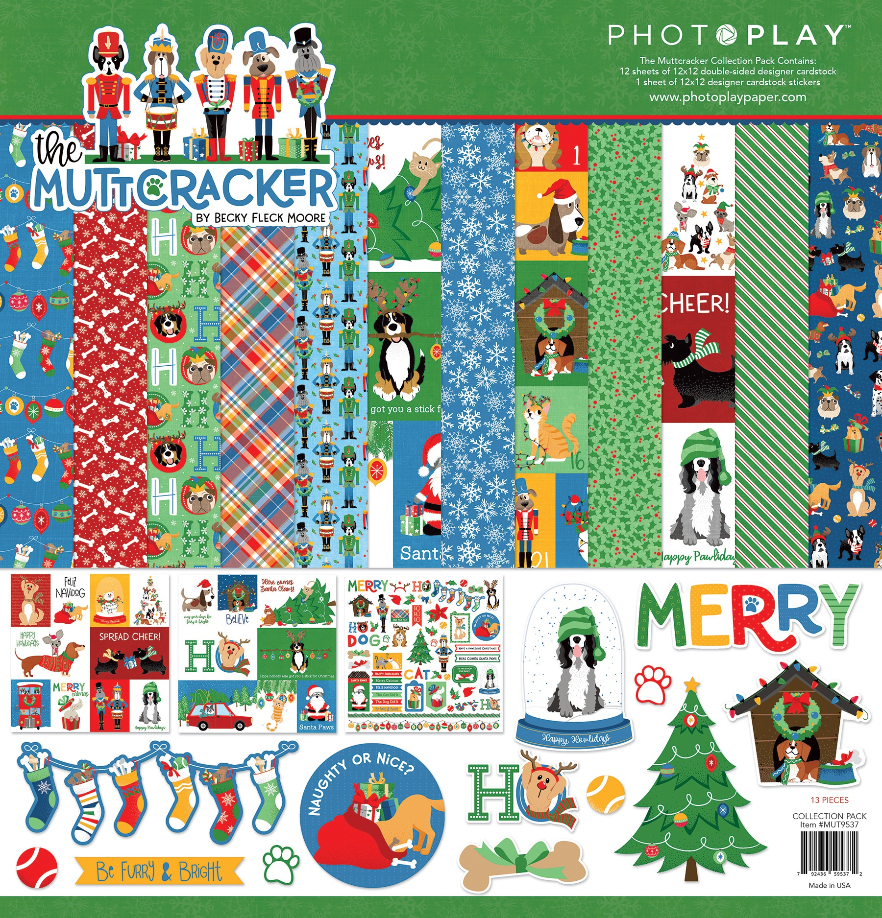 PhotoPlay Collection Pack 12X12-Muttcracker
