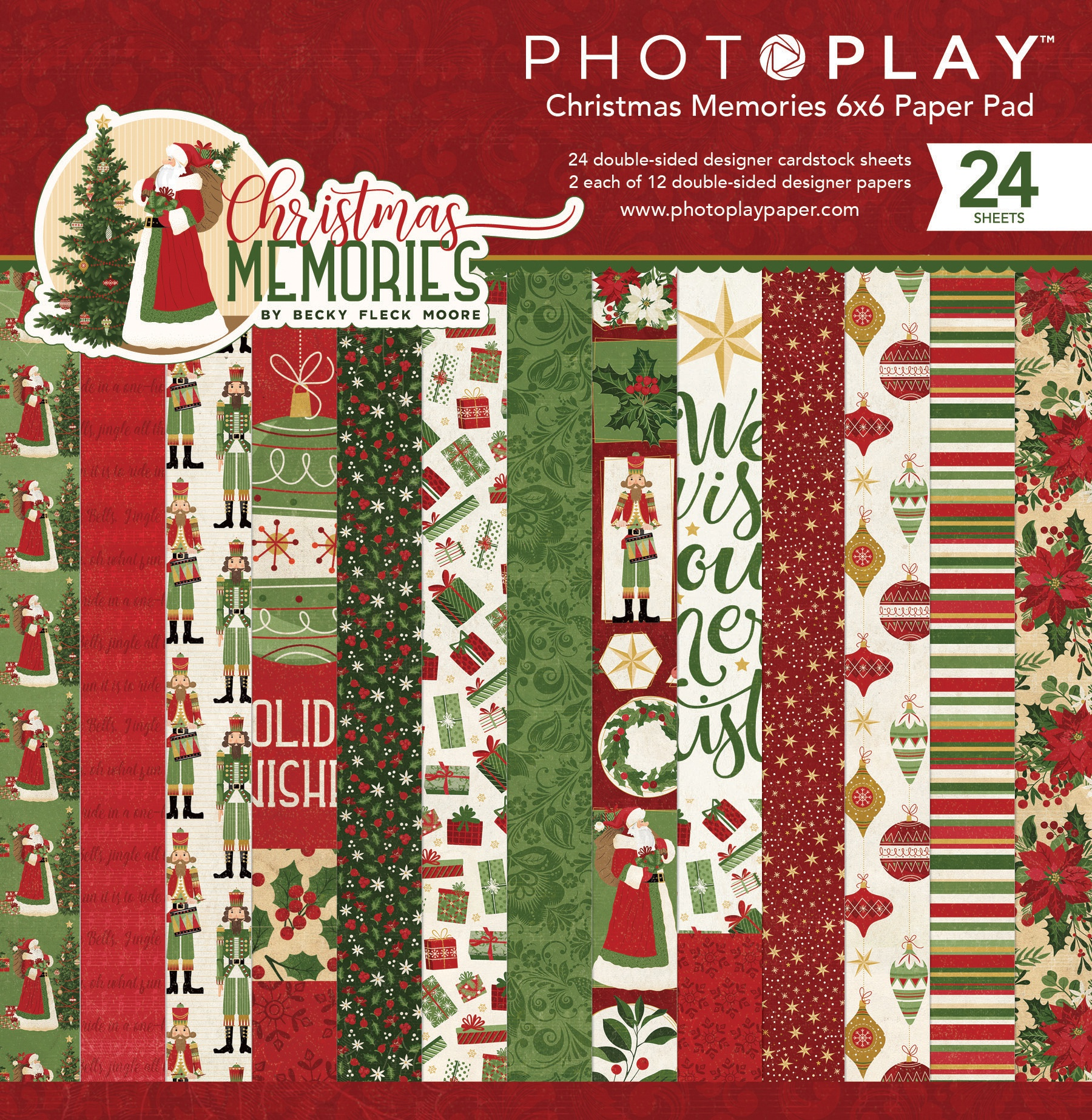 Photoplay Collection Card Kit-christmas Memories