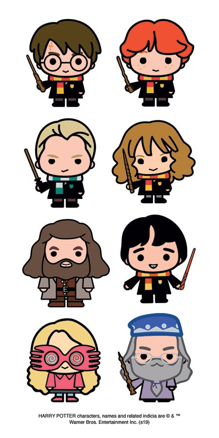 Harry Potter Chibi Stickers