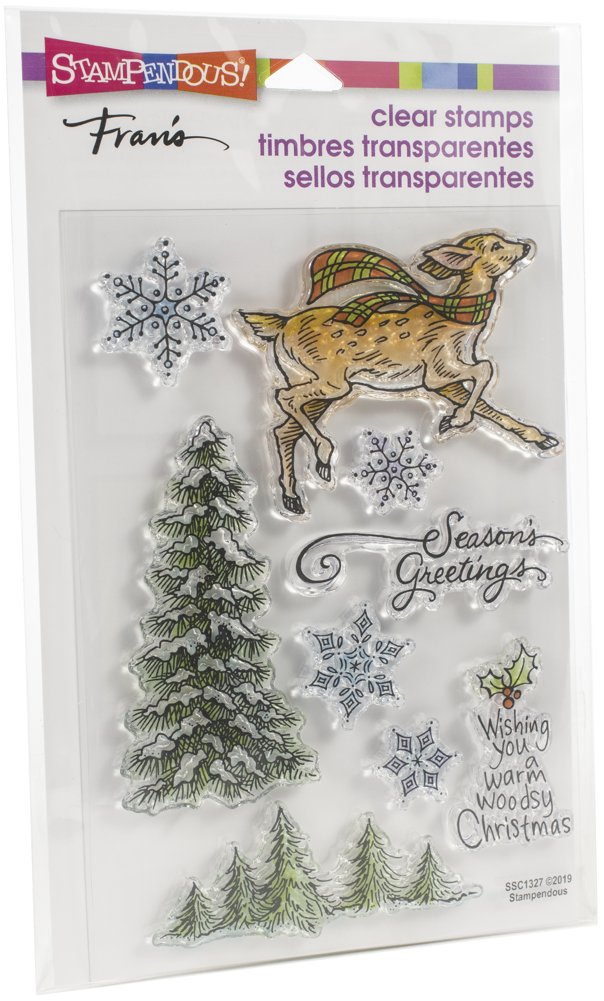 Stampendous Perfectly Clear Stamps-Woodland Deer