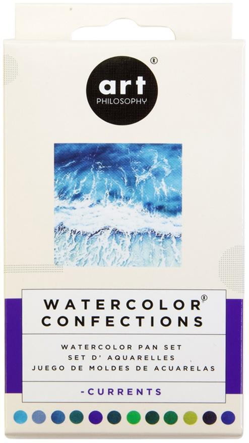 Prima Watercolor Confections Pans Currents