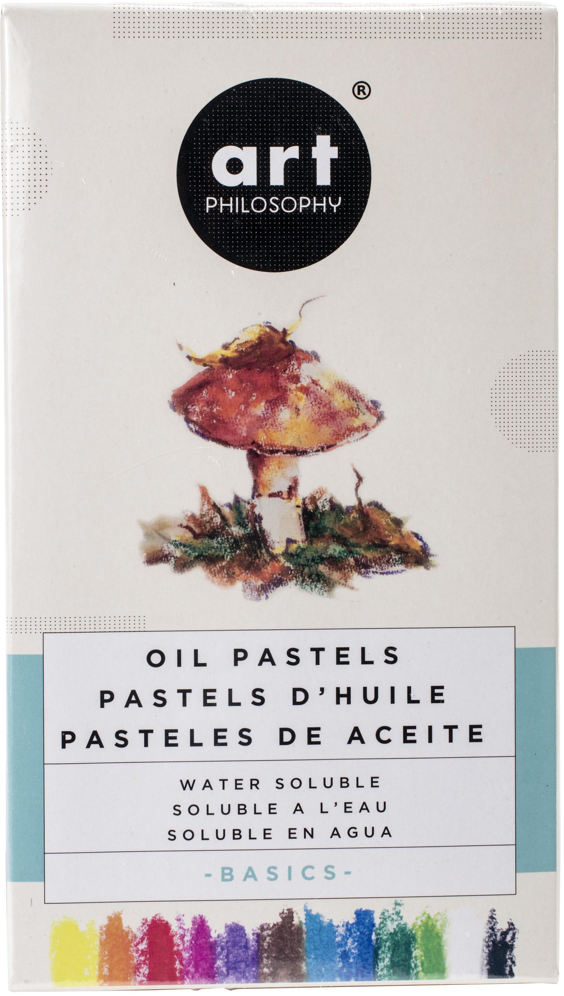 basics oil pastels