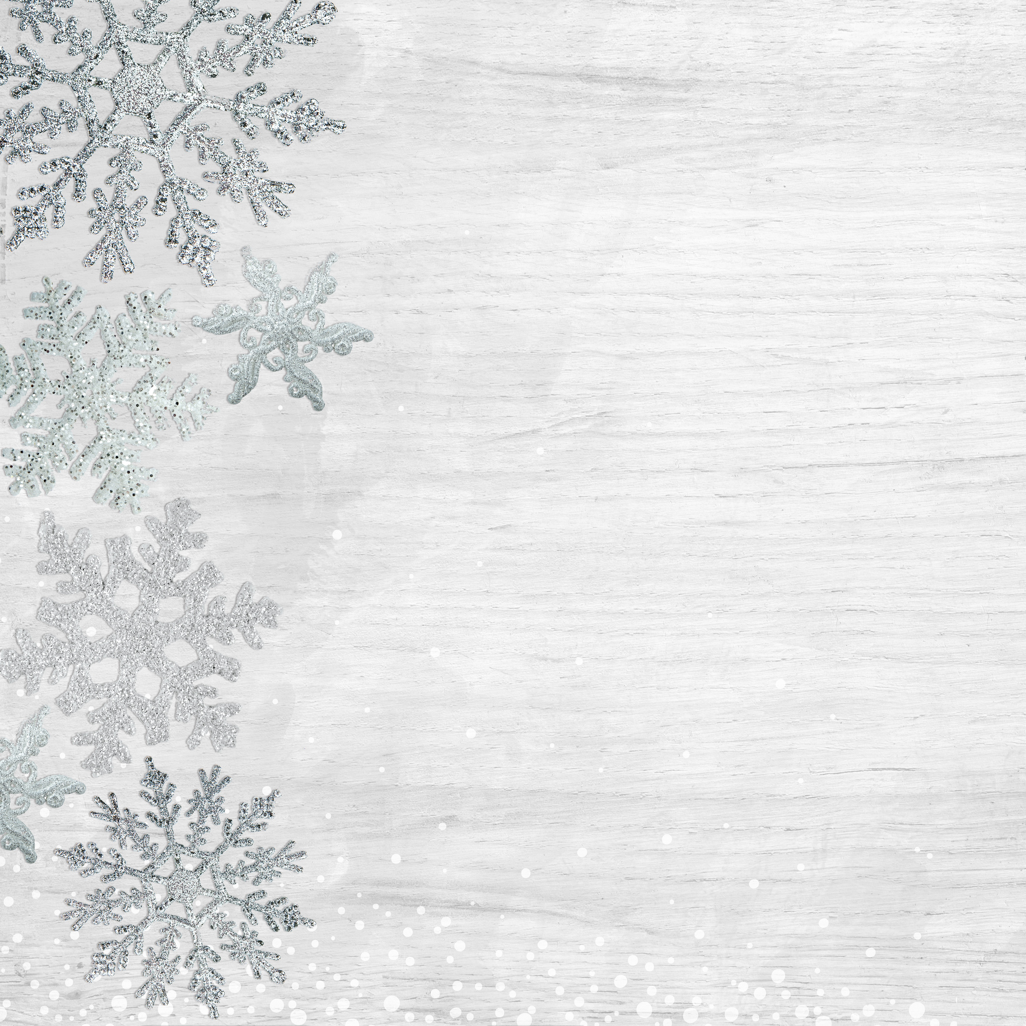 Let It Snow Double-Sided Cardstock 12X12-Delightful