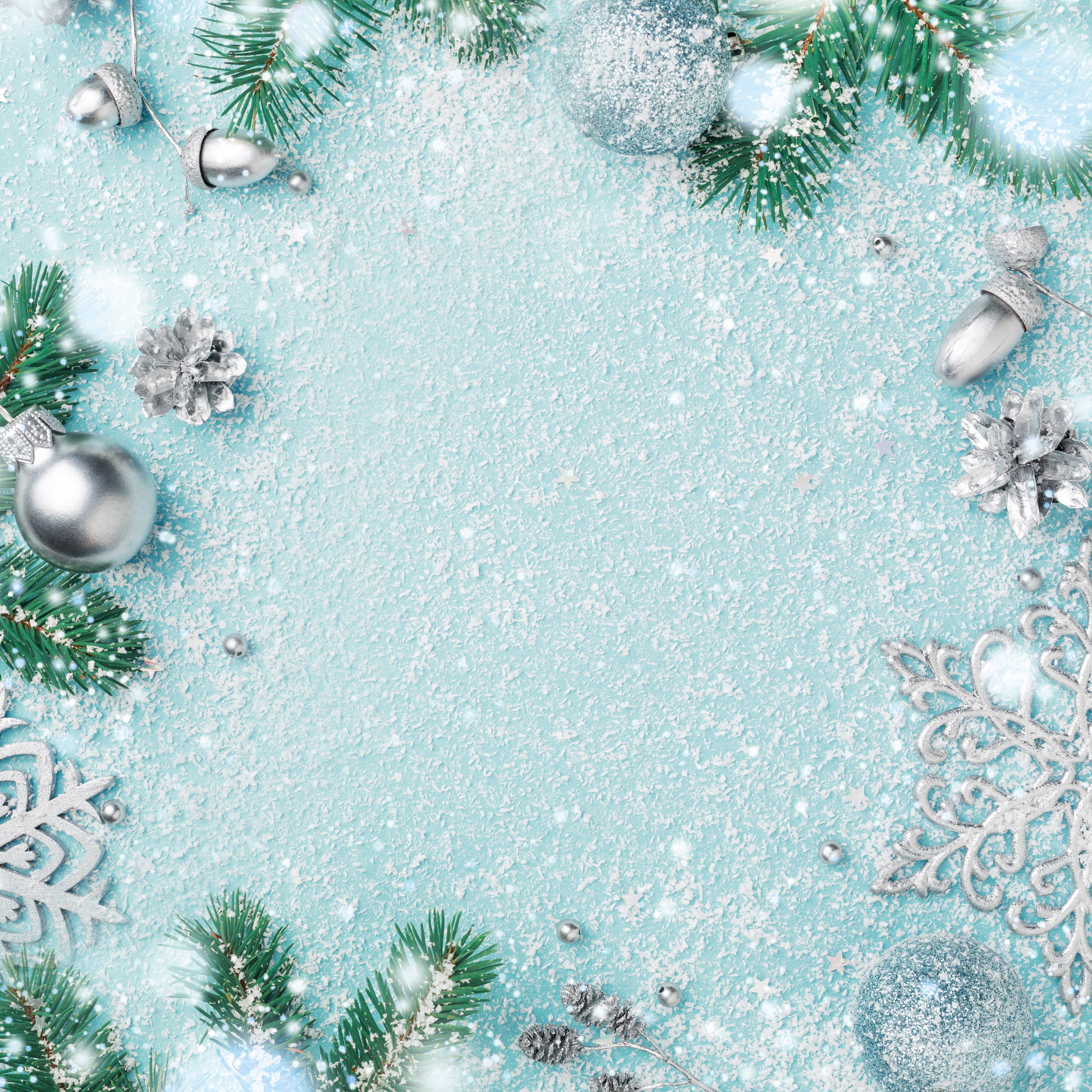 Wonderland- Let It Snow Double-Sided Cardstock 12X12- Kaiser