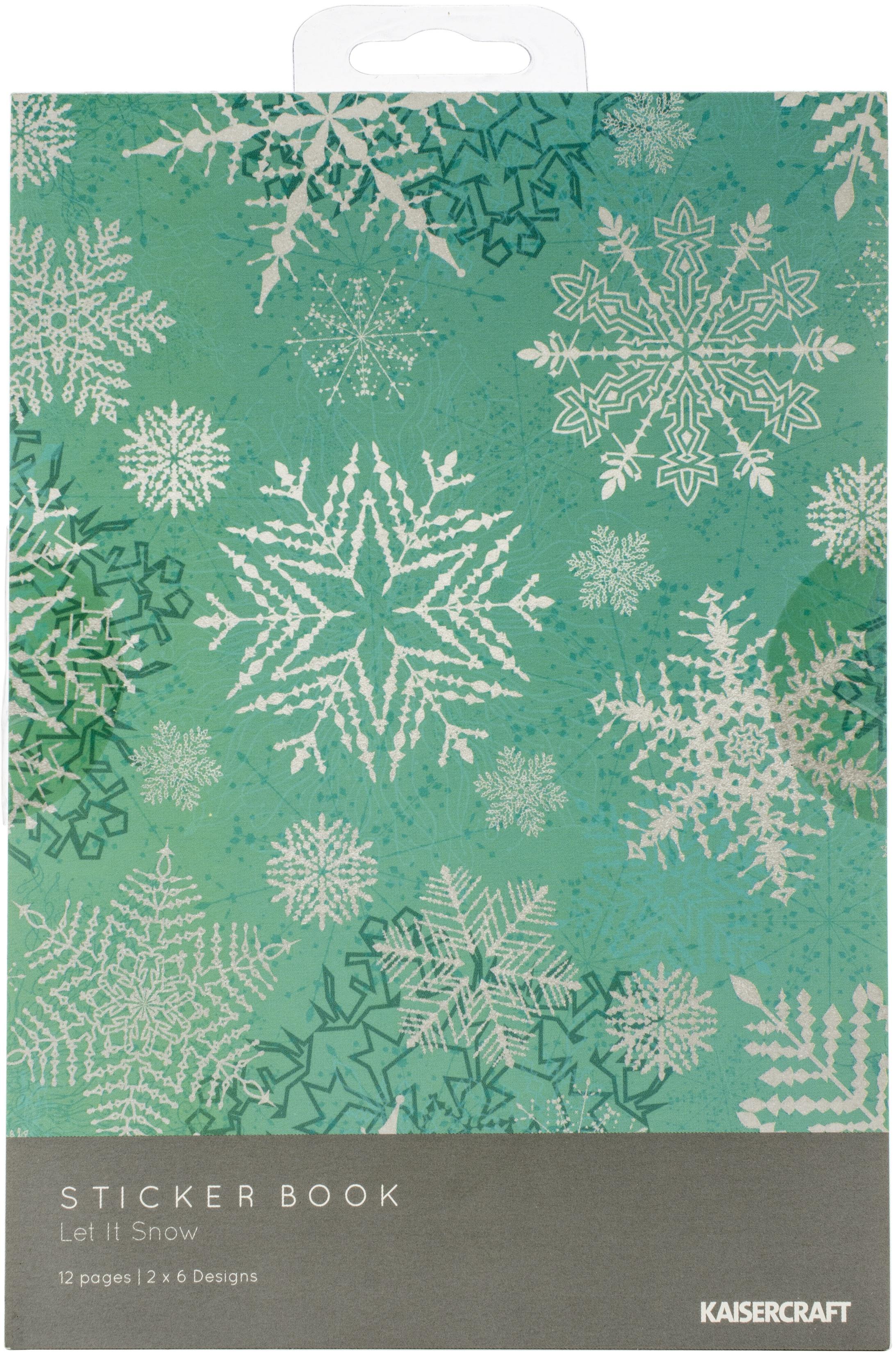 Kaisercraft Sticker Book-Let It Snow