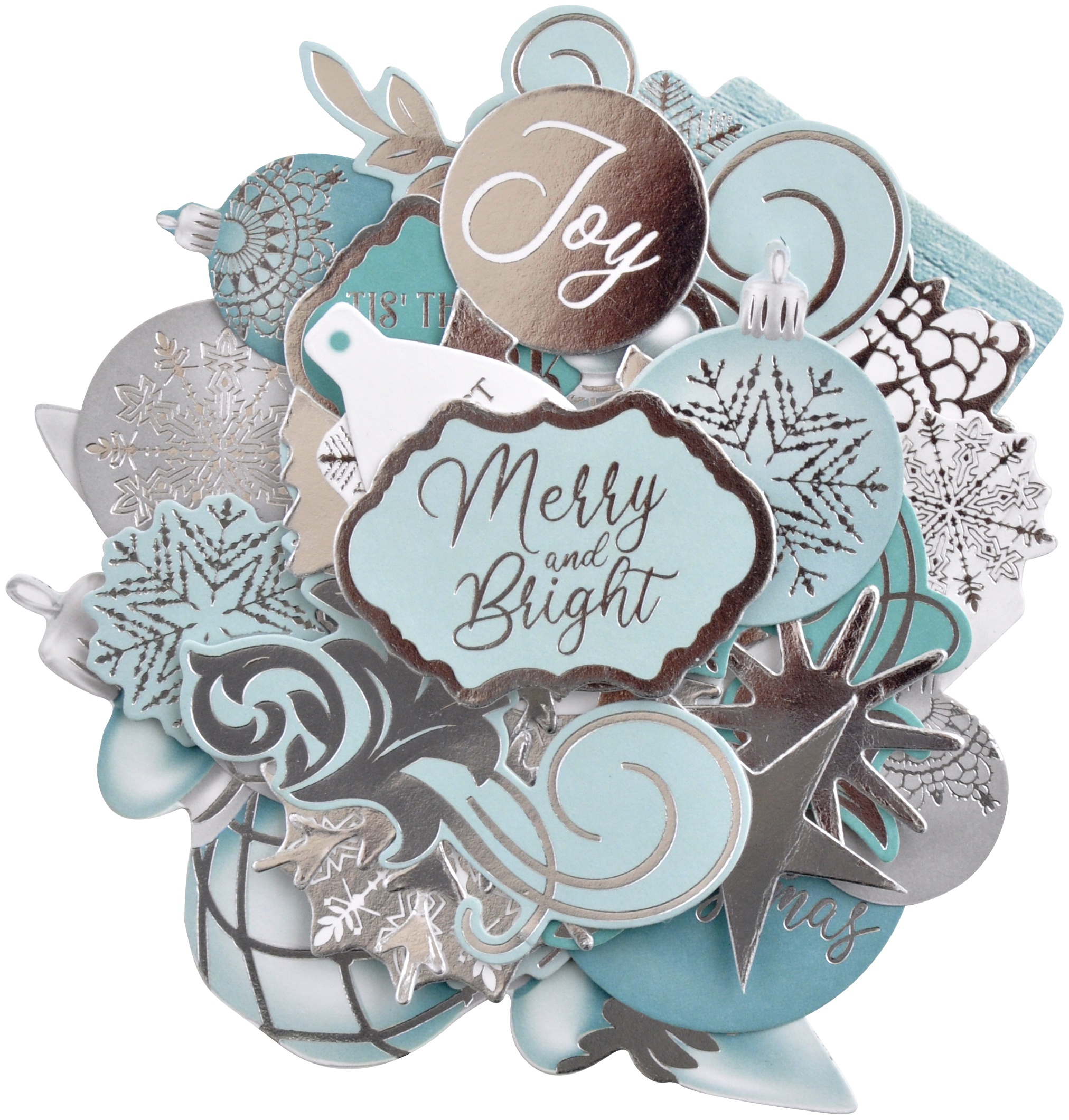 Kaisercraft Collectables Cardstock Die-Cuts-Let It Snow