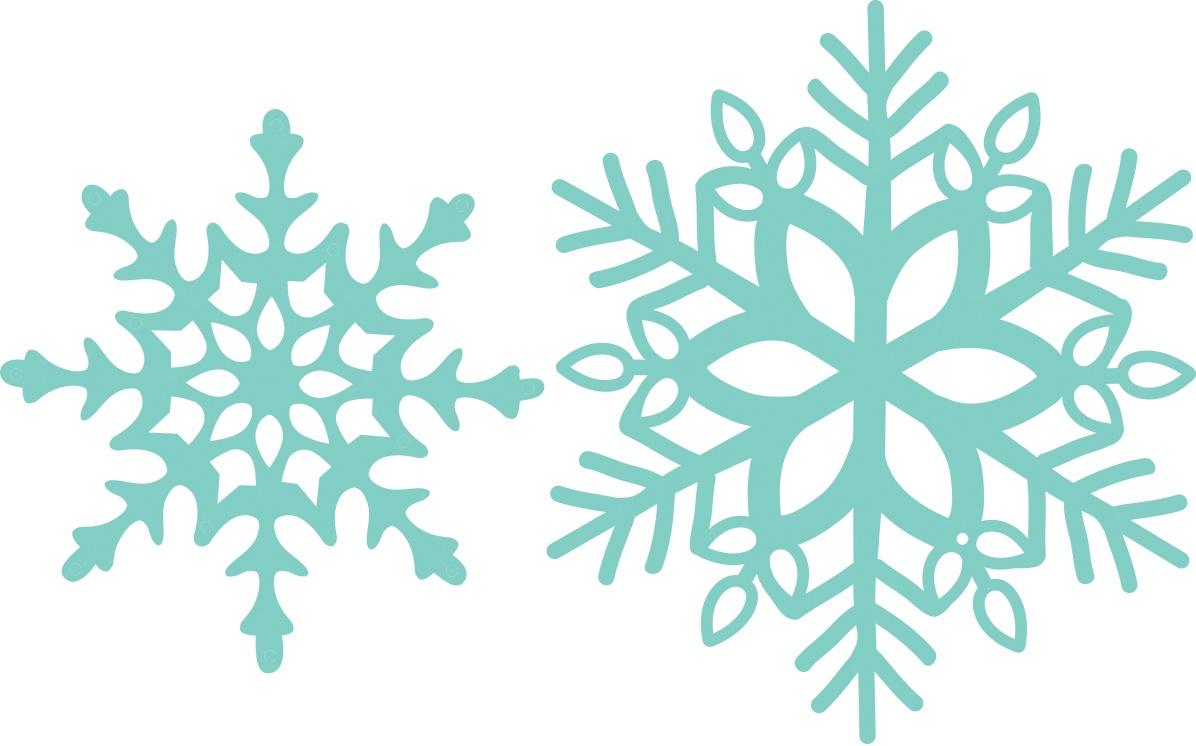 Kaisercraft Decorative Die-Snowflakes