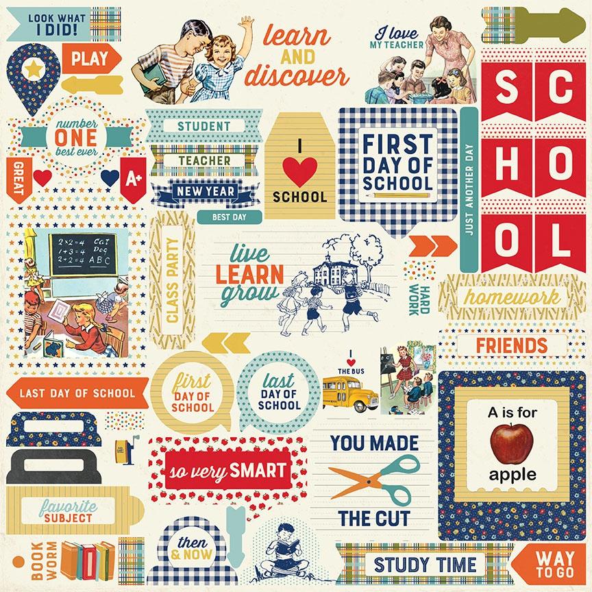 Scholastic Cardstock Stickers 12X12-Details
