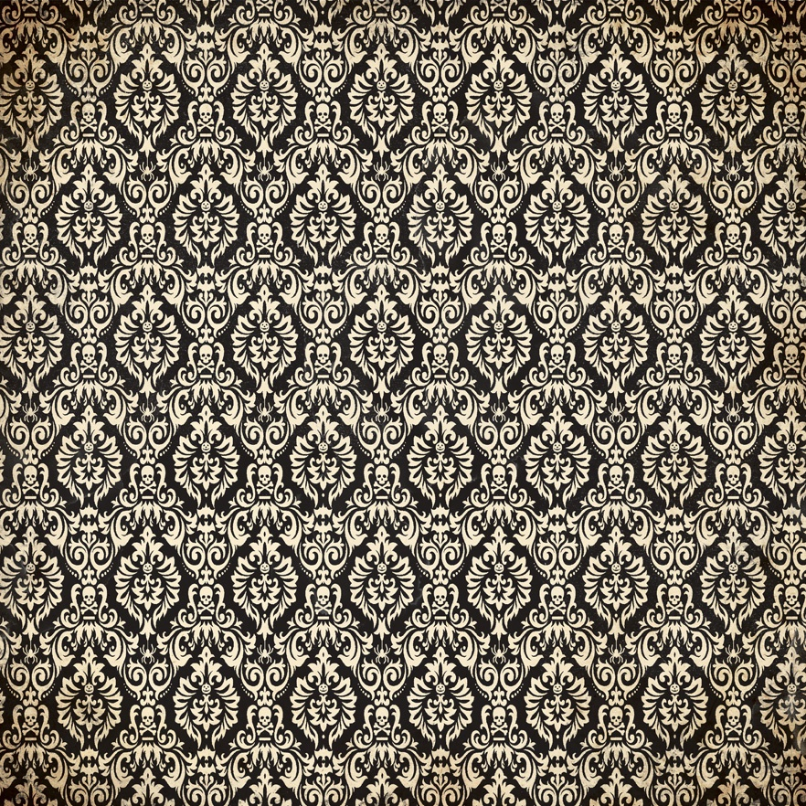 Twilight Double-Sided Cardstock 12X12-#6 Skull Diamond