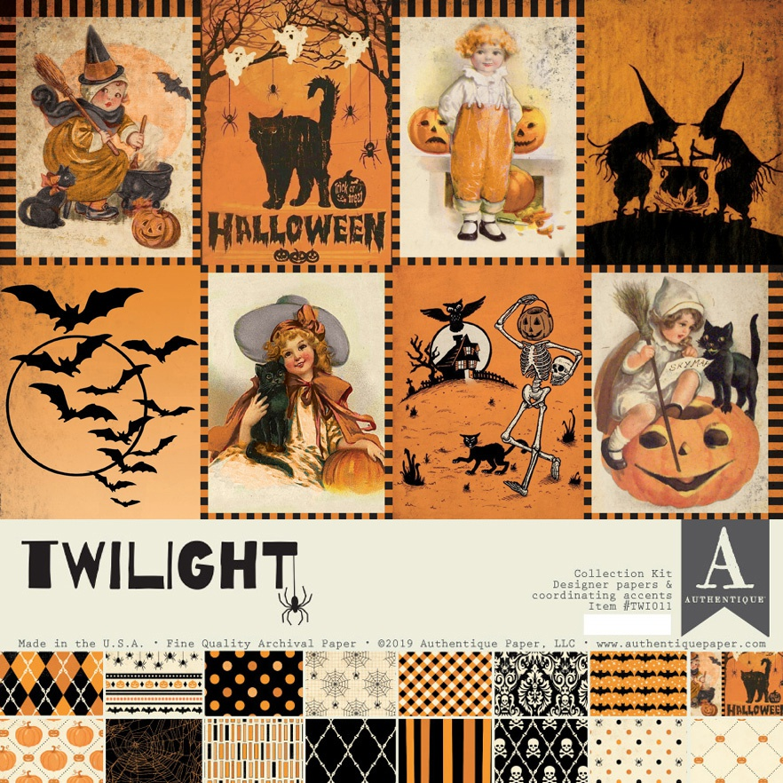 Authentique Collection Kit 12X12-Twilight