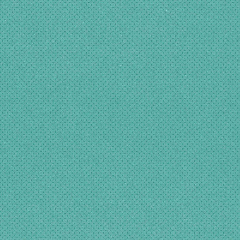 Autumn Splendor Double-Sided Cardstock 12X12-Turquiose/Dots Simple Basic