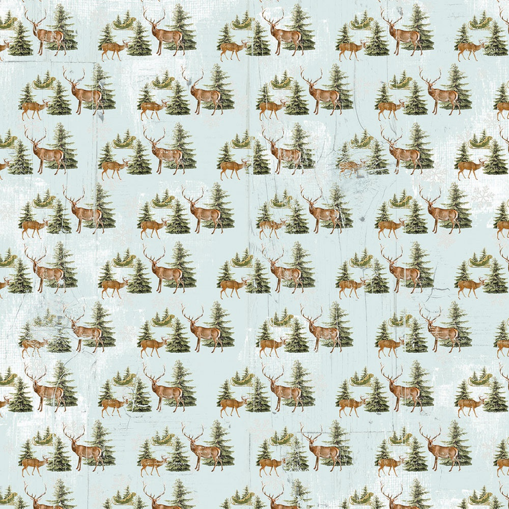 Country Christmas Joyous Noel Paper