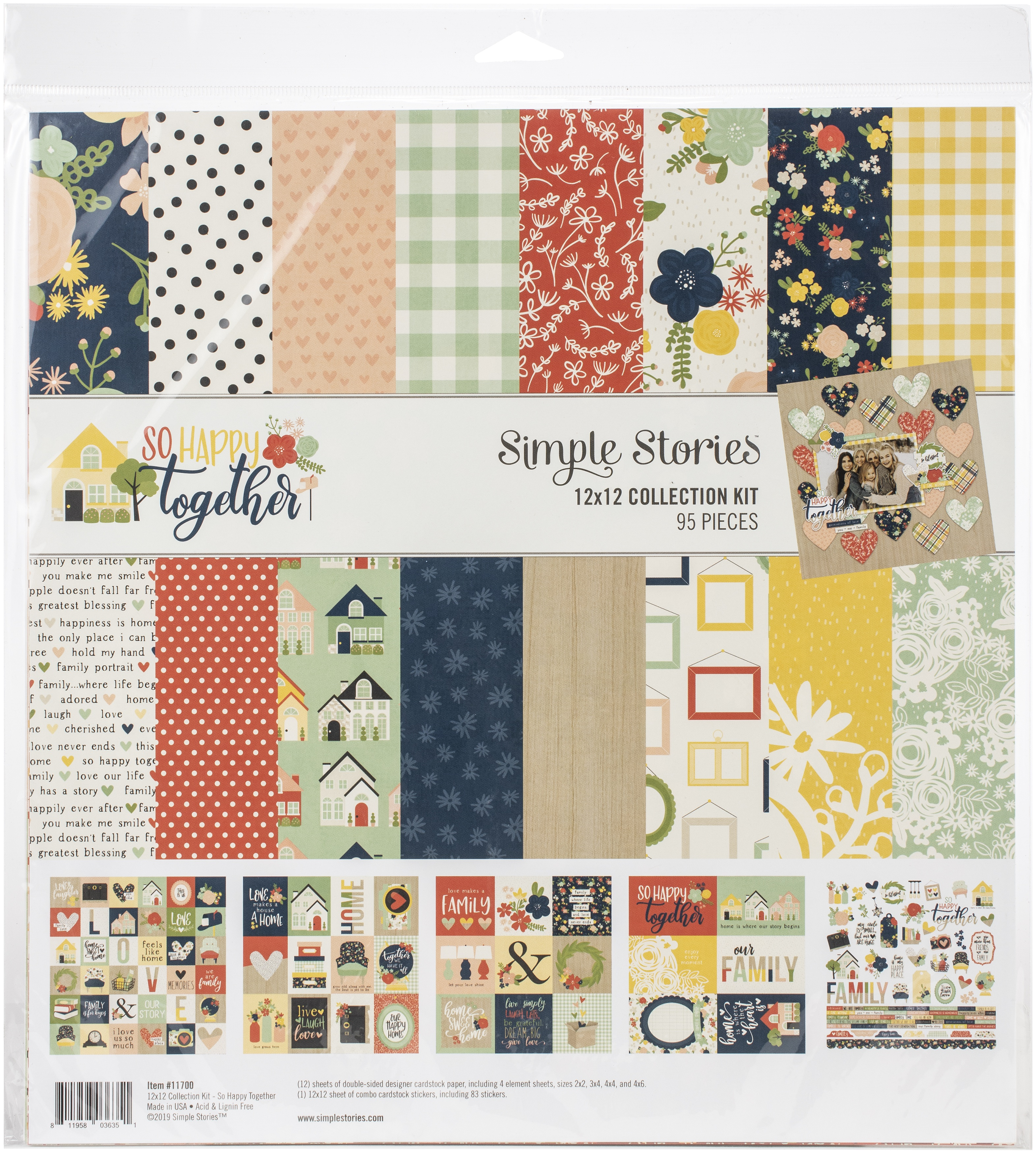Simple Stories So Happy Together - 12x12 Collection Kit