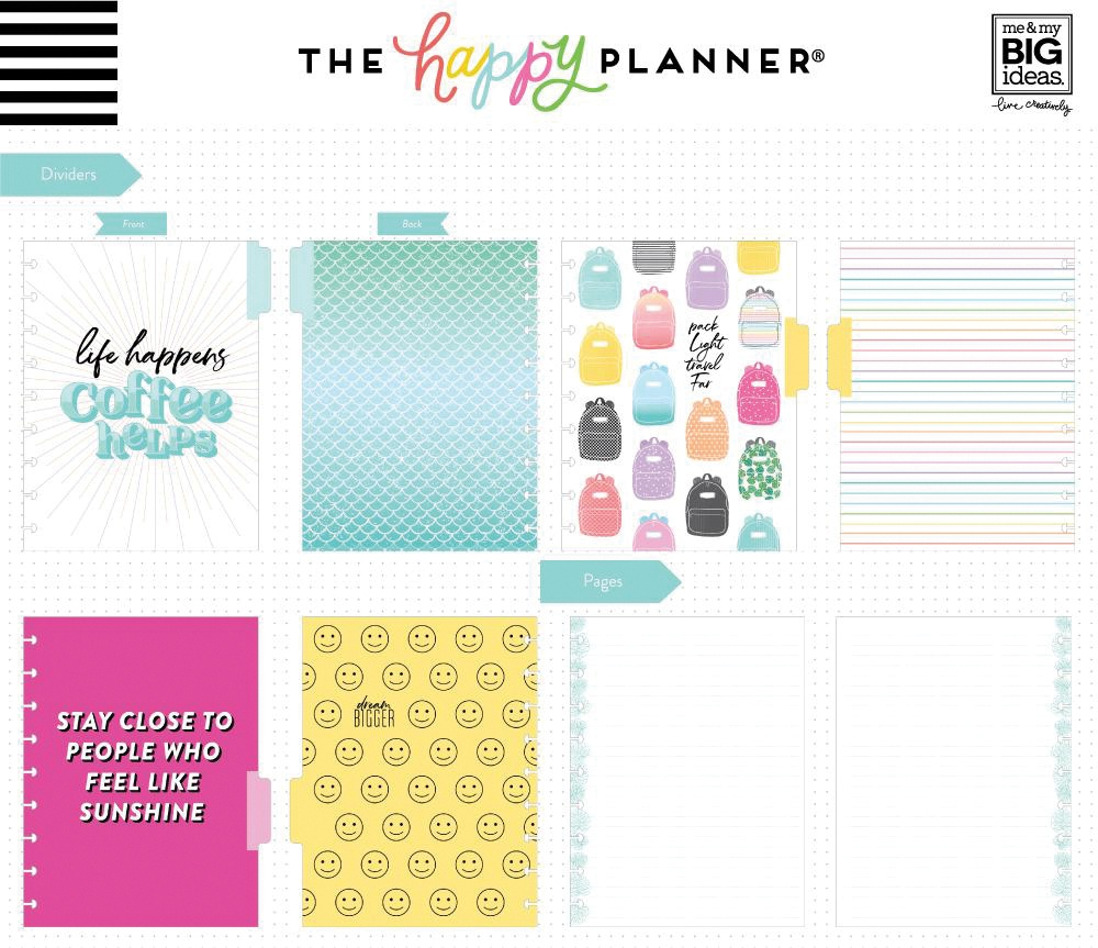 Happy Planner Medium Notebook W/60 Sheets-Very Busy, Lined