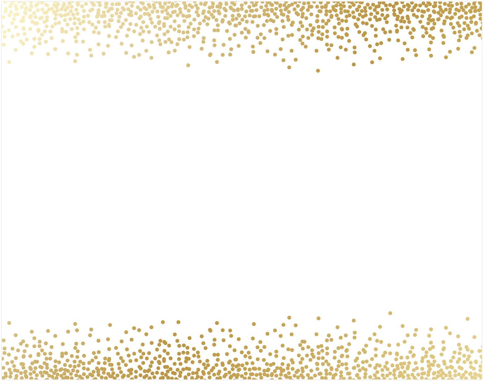 AC Specialty Poster Board 22X28-Gold Foil Confetti