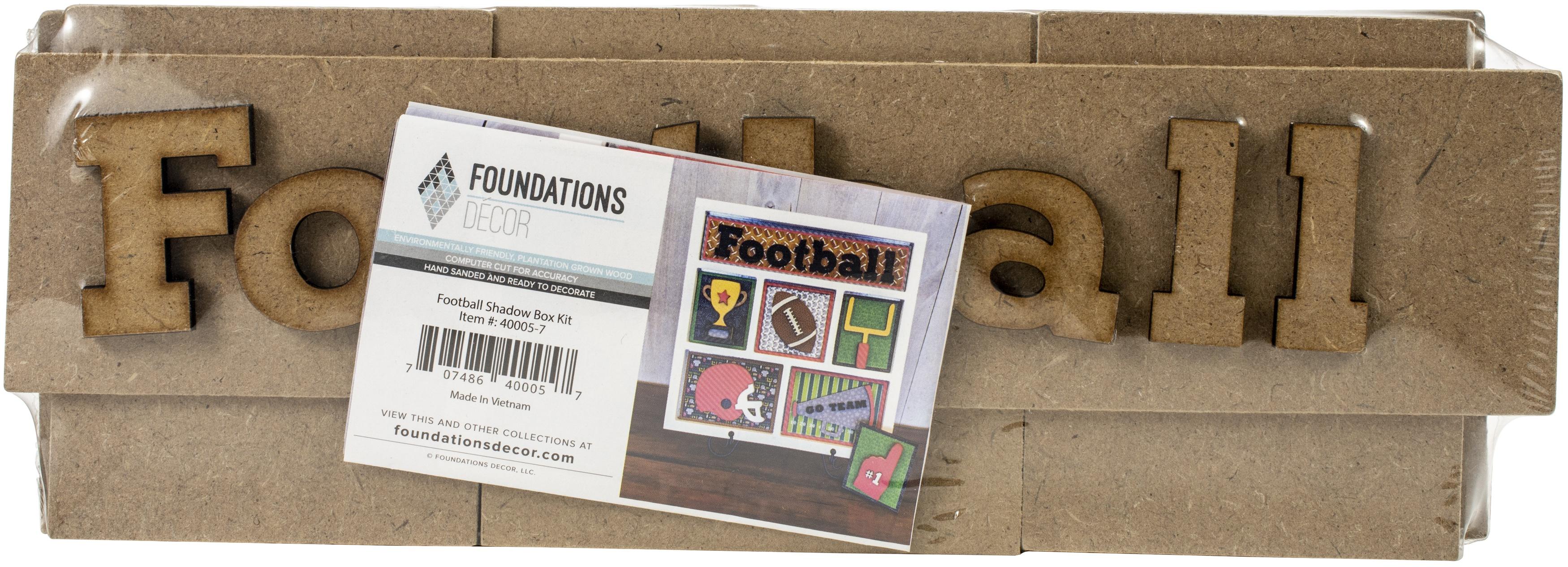 Football Shadow Box kit