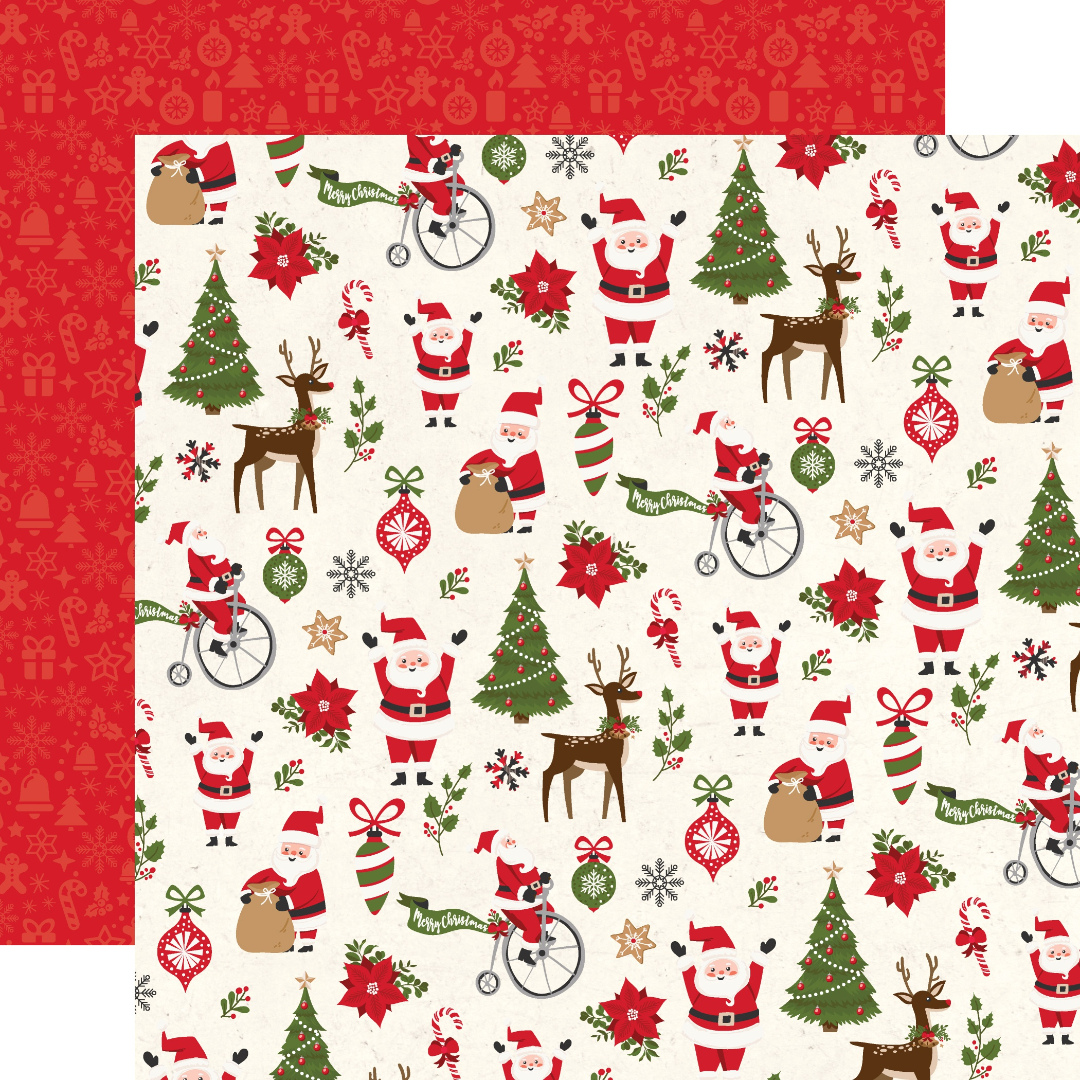 My Favorite Christmas Double-Sided Cardstock 12X12-Christmas Fun