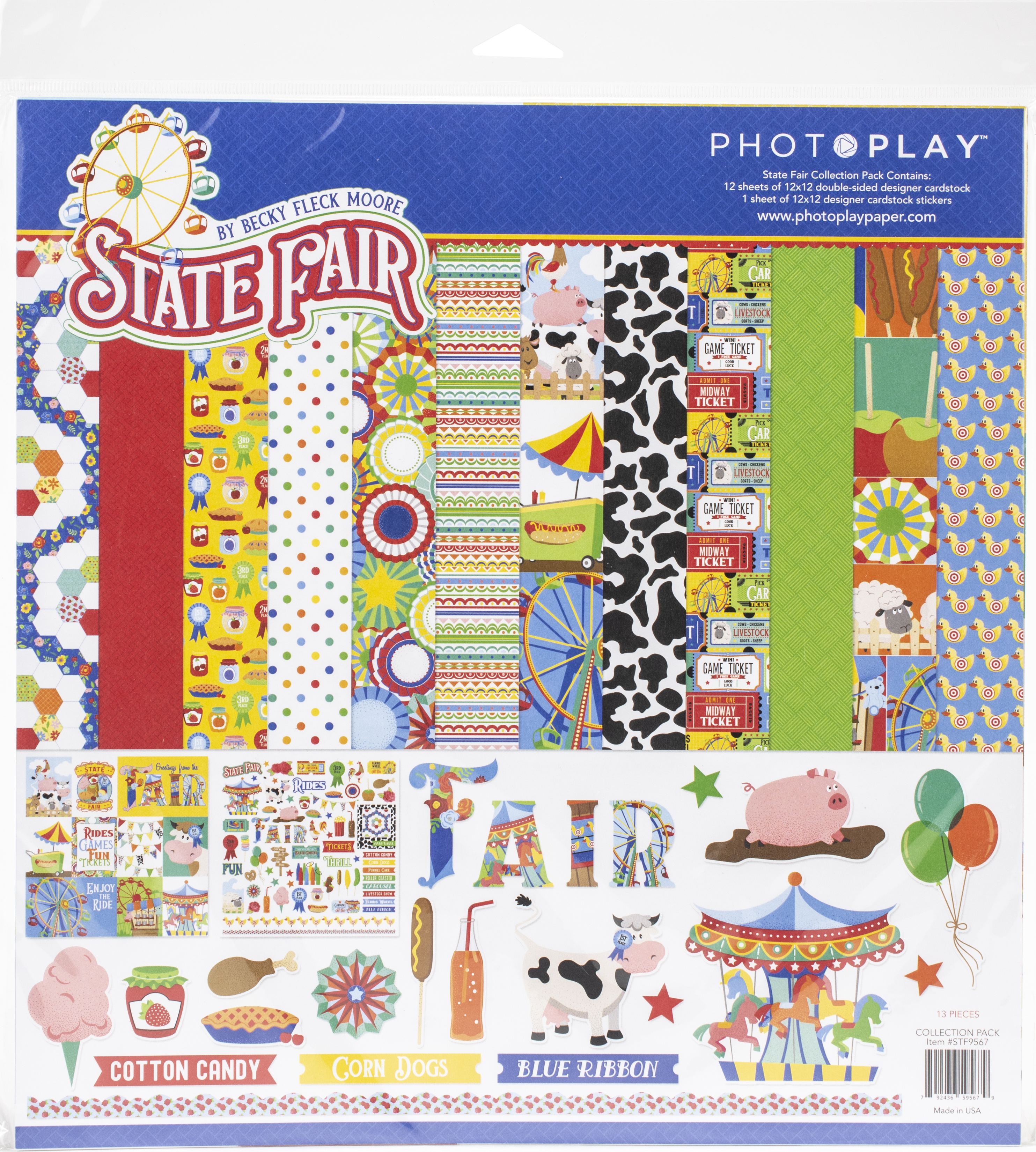 PhotoPlay Collection Pack 12X12-State Fair