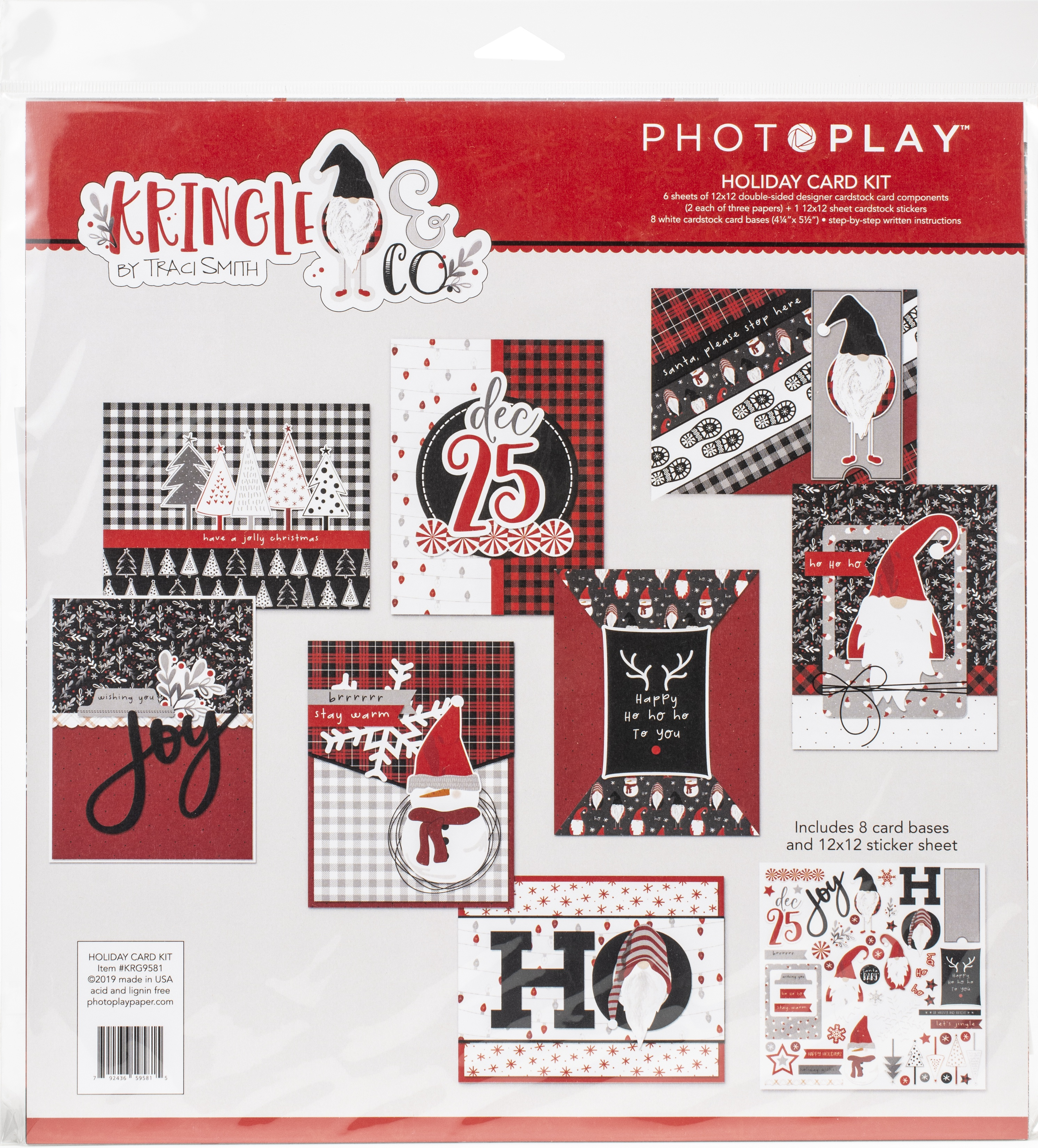 PhotoPlay Collection Card Kit-Kringle & Co
