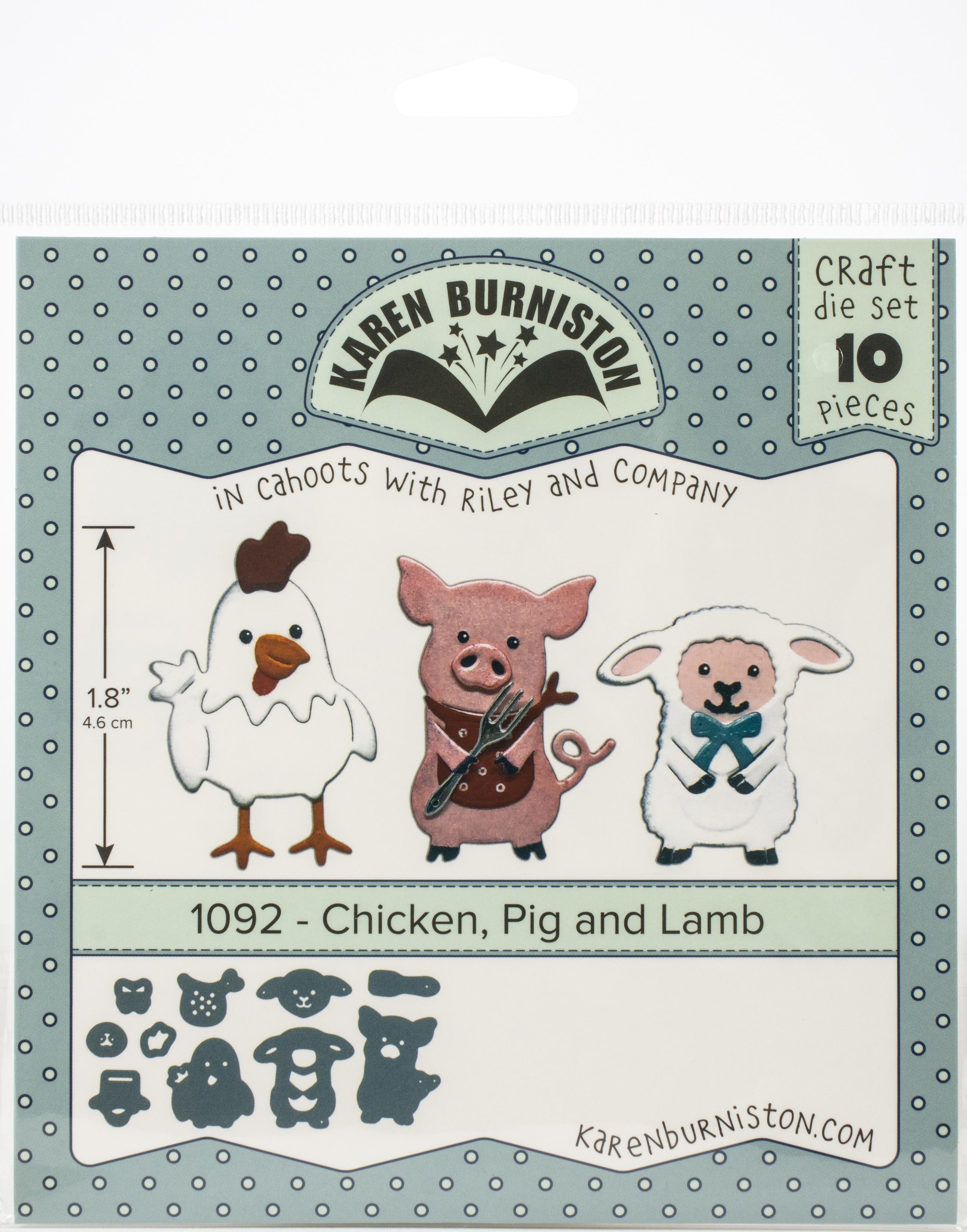KB Die 1092 Chicken, Pig and Lamb