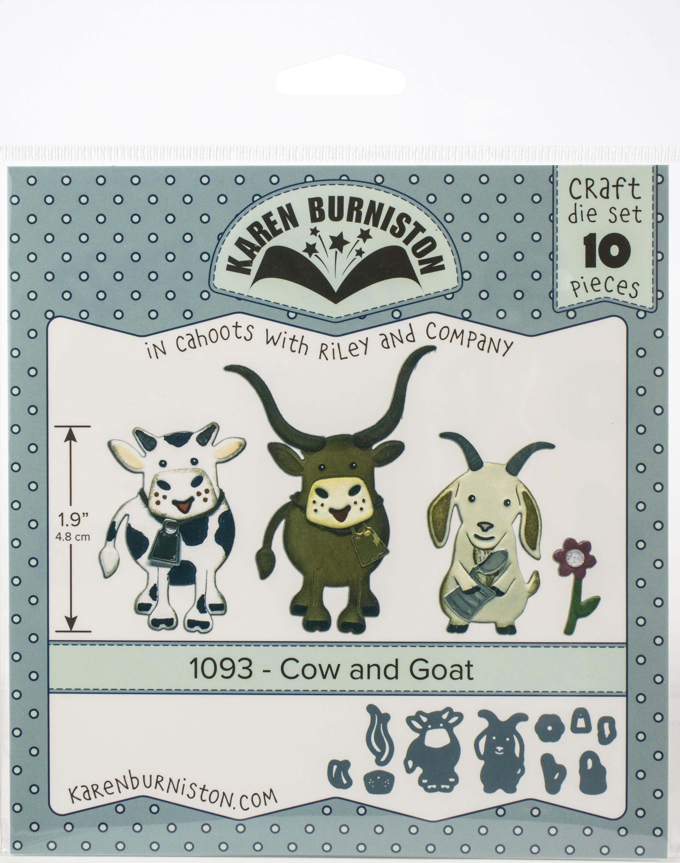 KB Die 1093 Cow and Goat