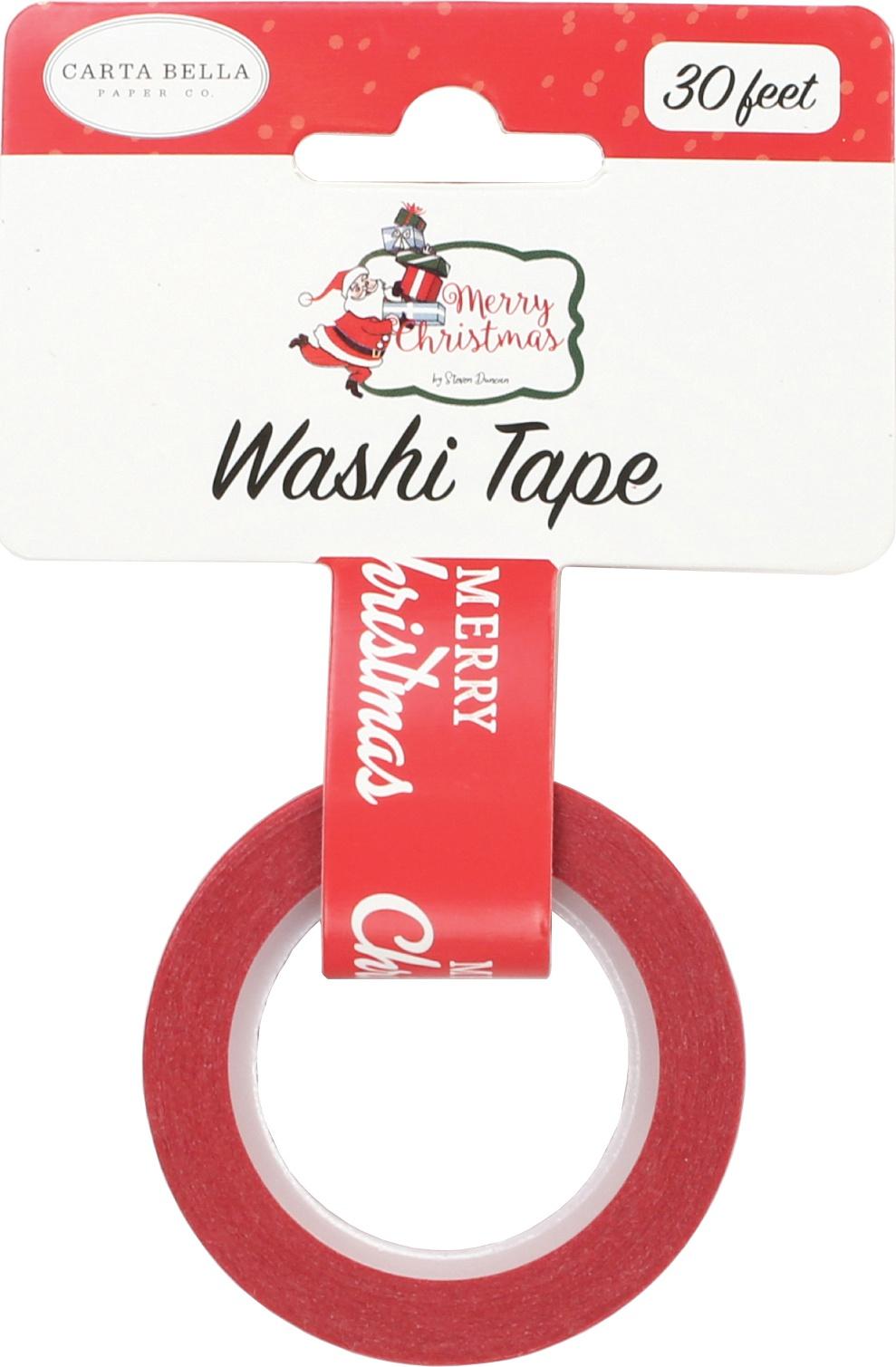 ^Carta Bella - Washi Tape - Merry Christmas