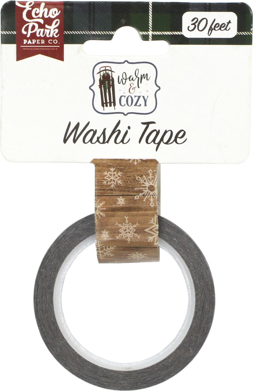 EP Washi Tape Warm & Cozy Winter Woodgrain
