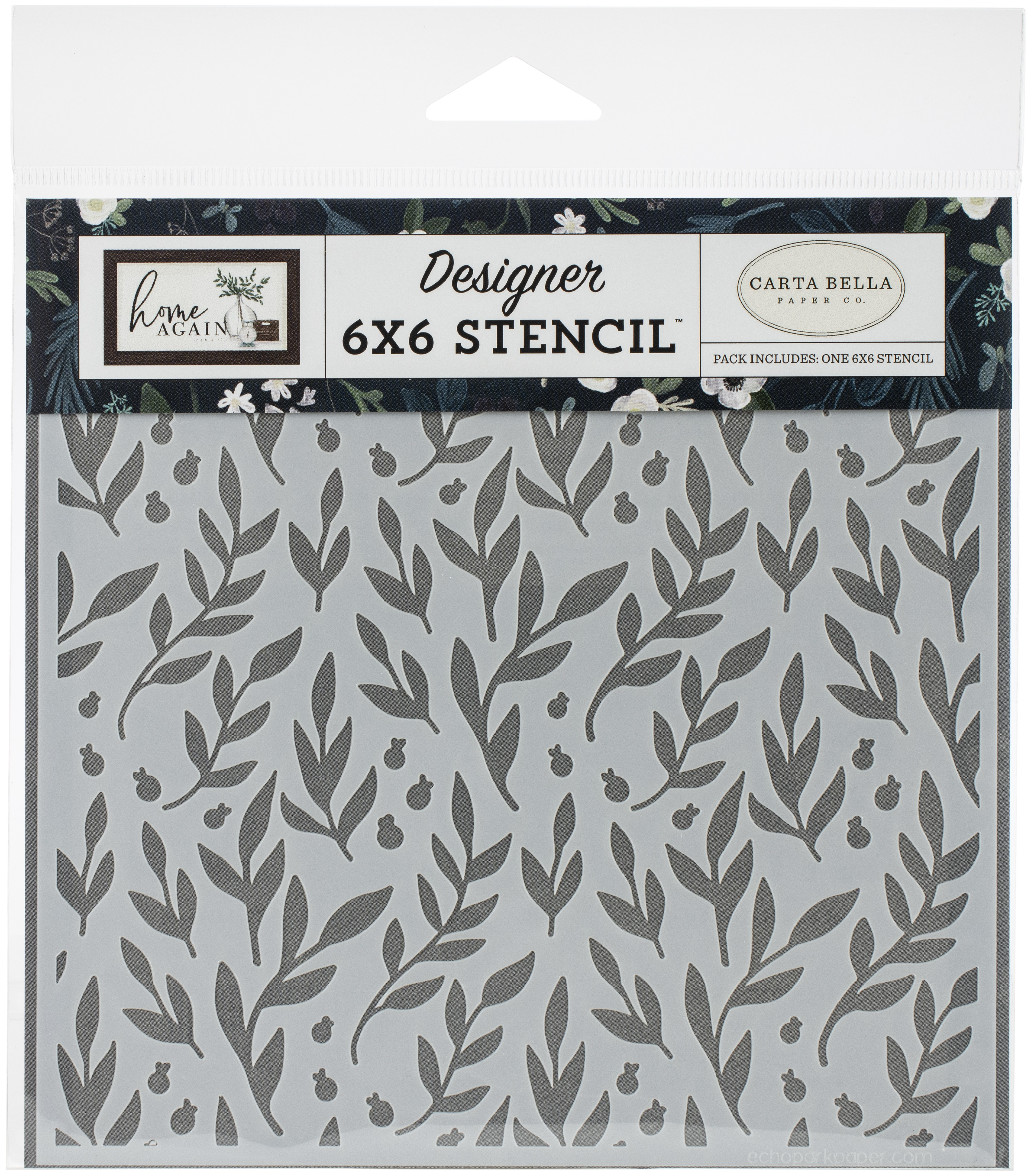 Carta Bella Stencil 6X6-Gather Branches