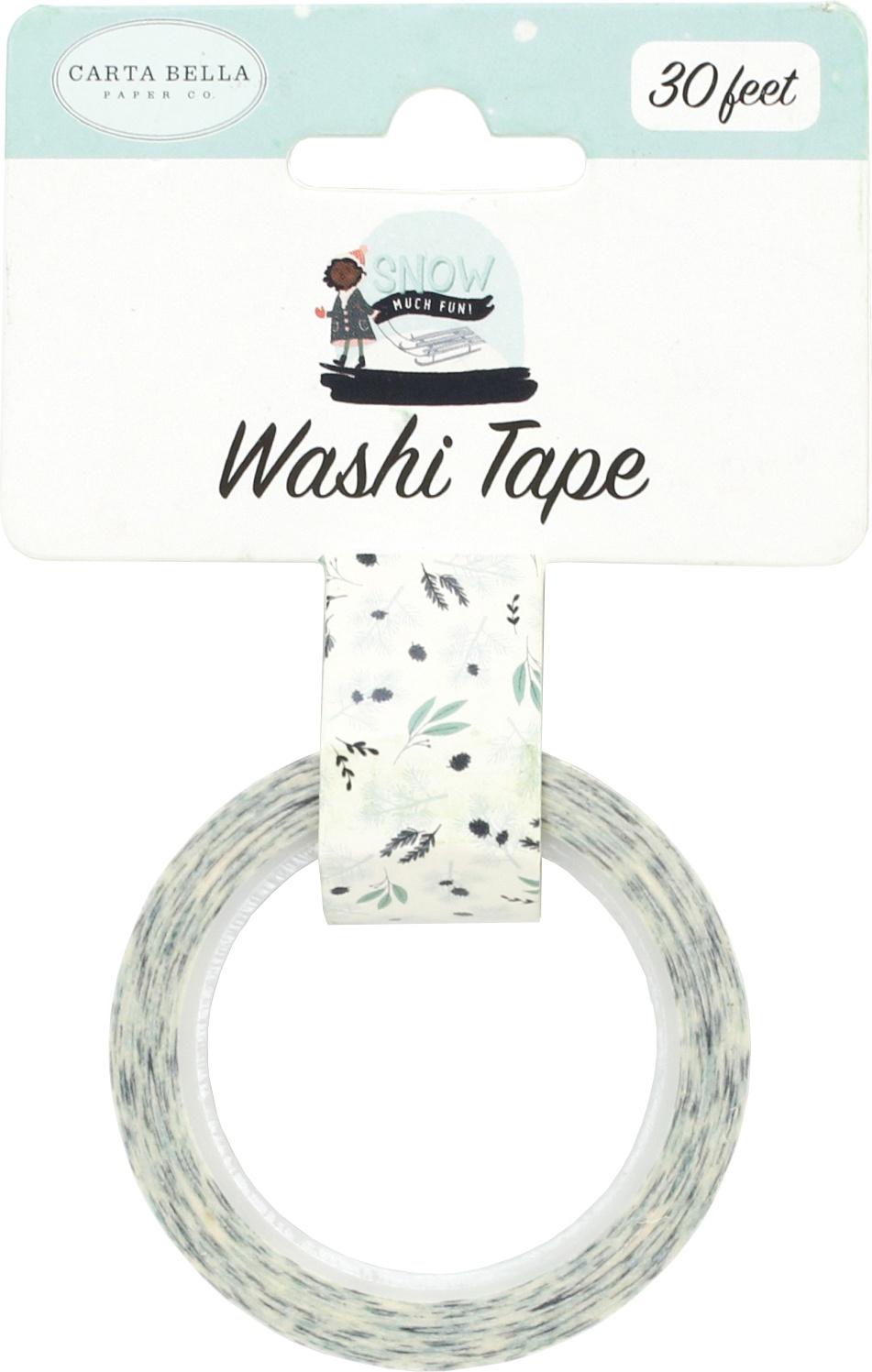 ^Carta Bella - Washi Tape - Snowy Pines