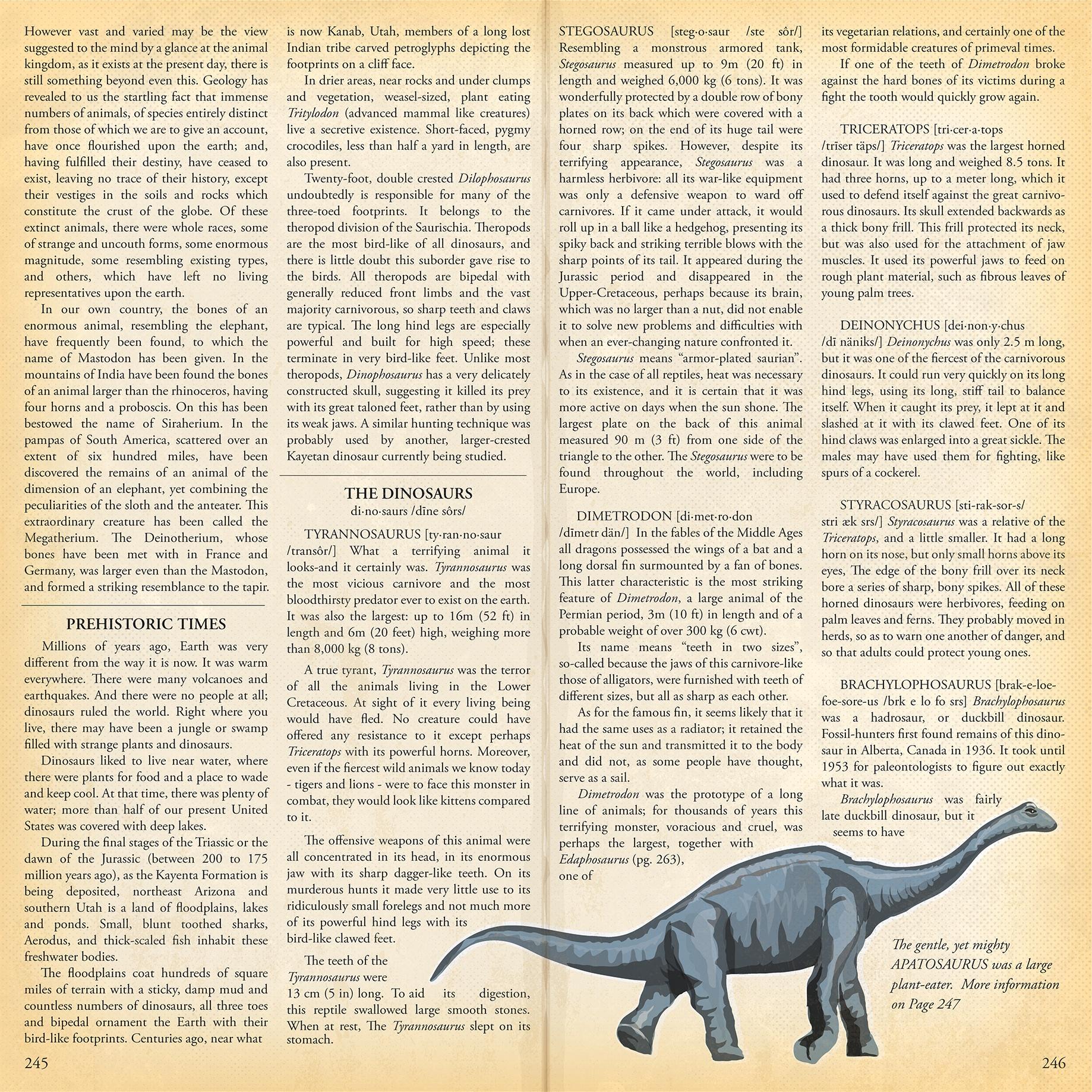 Dinosaurs - 4x6 Journaling Cards