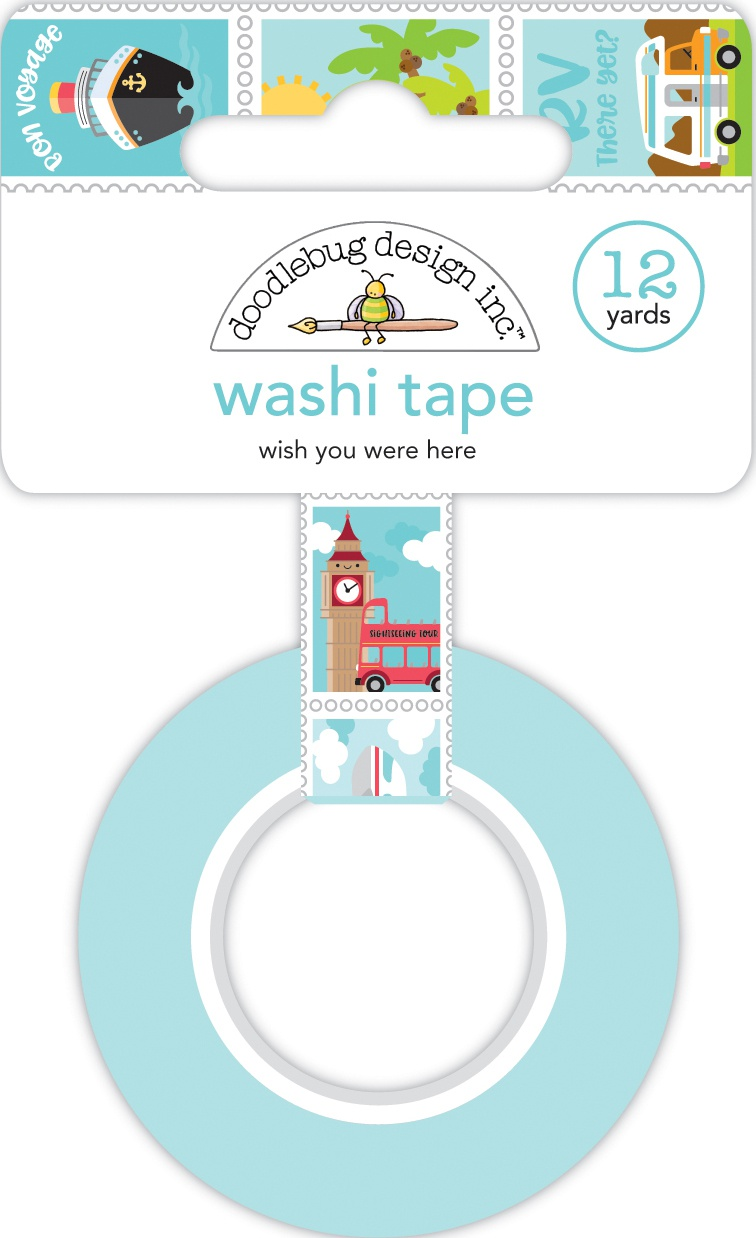 DB Washi Tape Wish You Were Here
