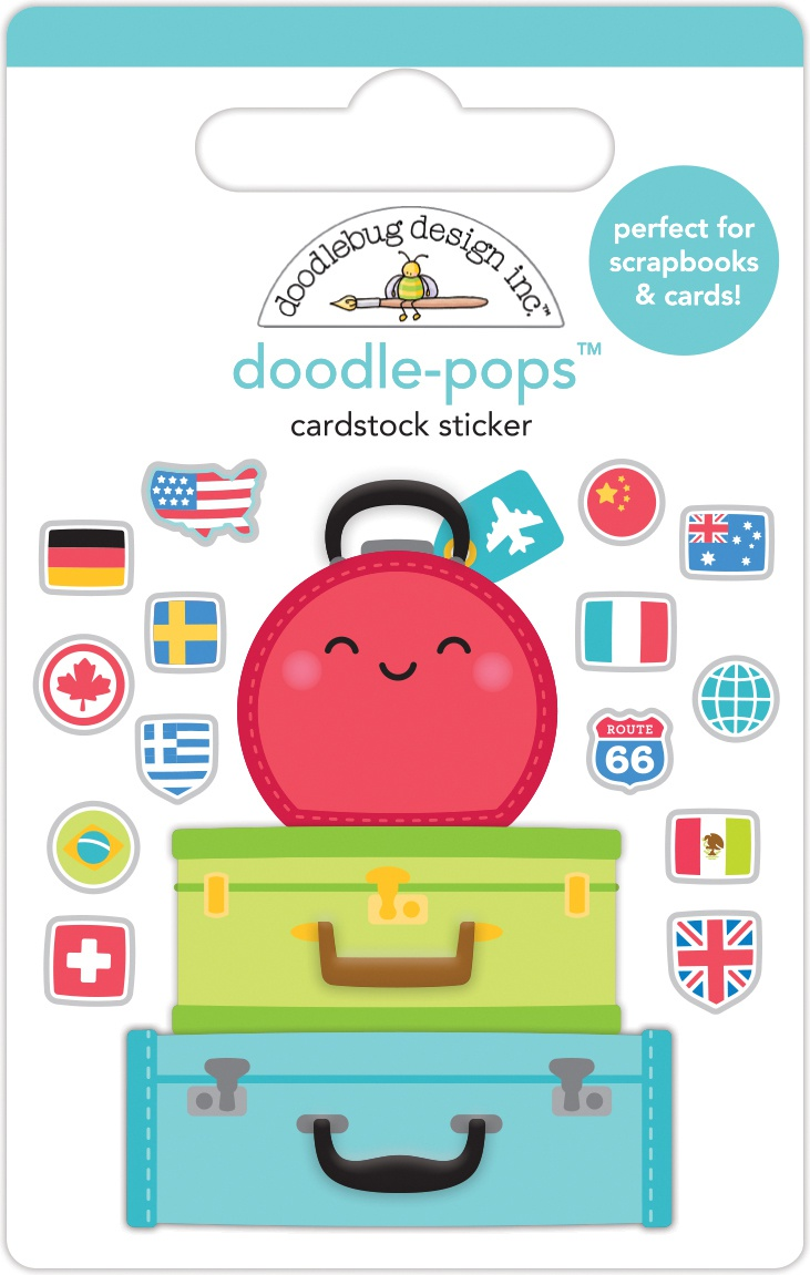 Doodle Pops - Pack Your Bags
