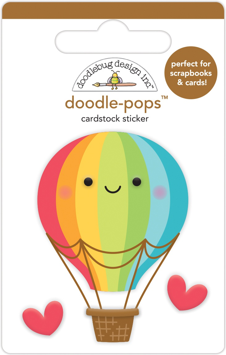 Doodlebug Doodle-Pops - Up Up & Away