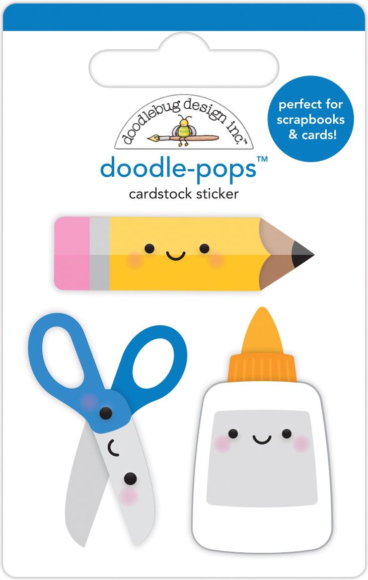 DB Doodle-Pops Cut & Paste
