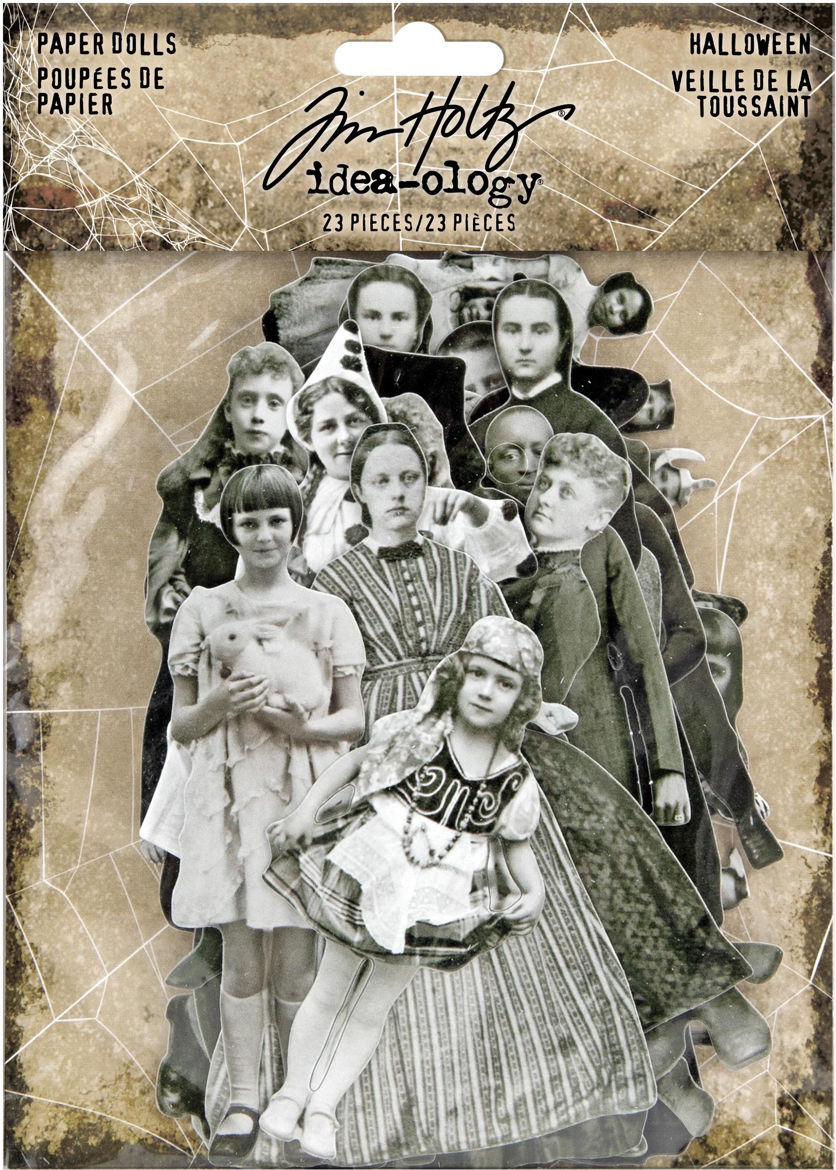 Idea-Ology Paper Dolls Die-Cuts 23/Pkg-Halloween