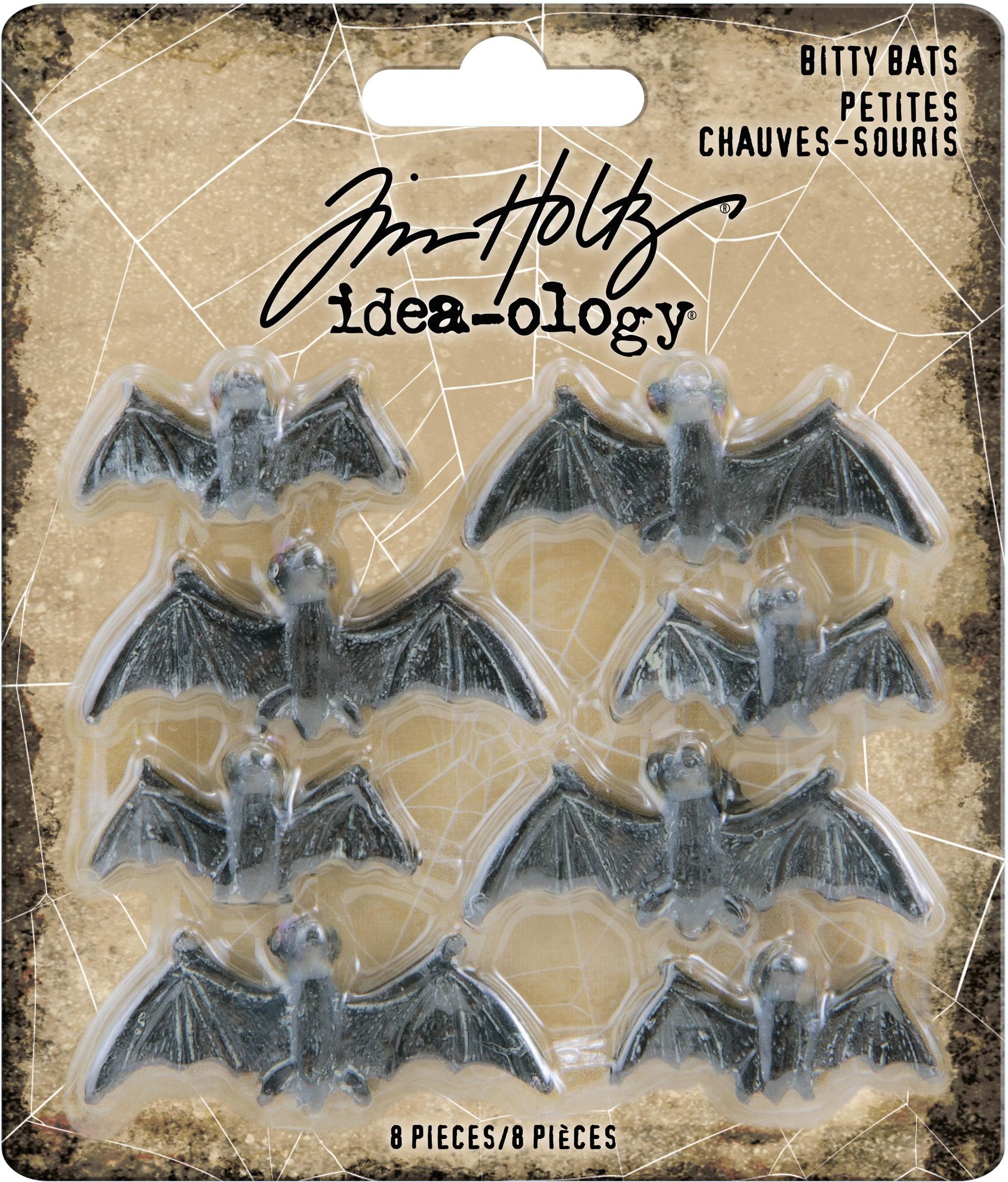 Idea-Ology Bity Bats 8/Pkg-