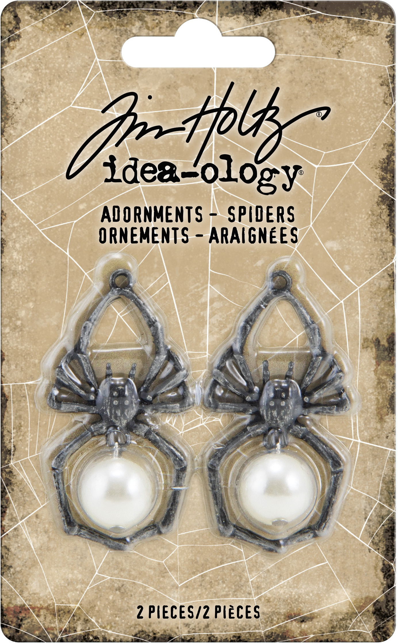 Idea-ology Adornments Spiders