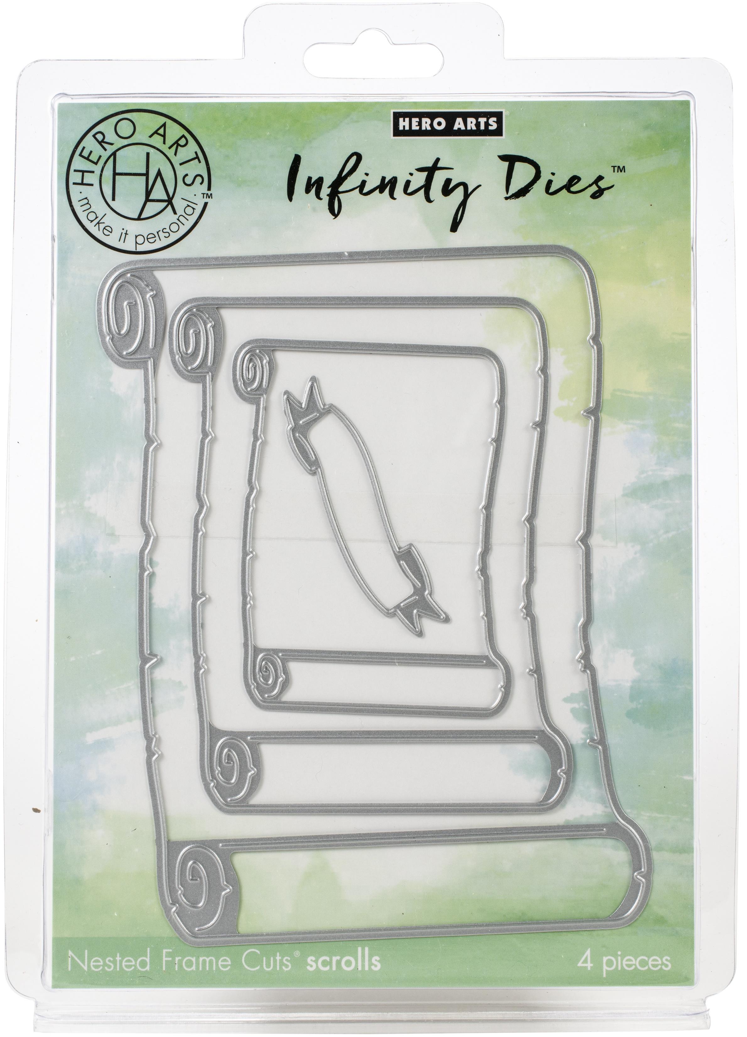 Hero Arts Infinity Dies-Scrolls