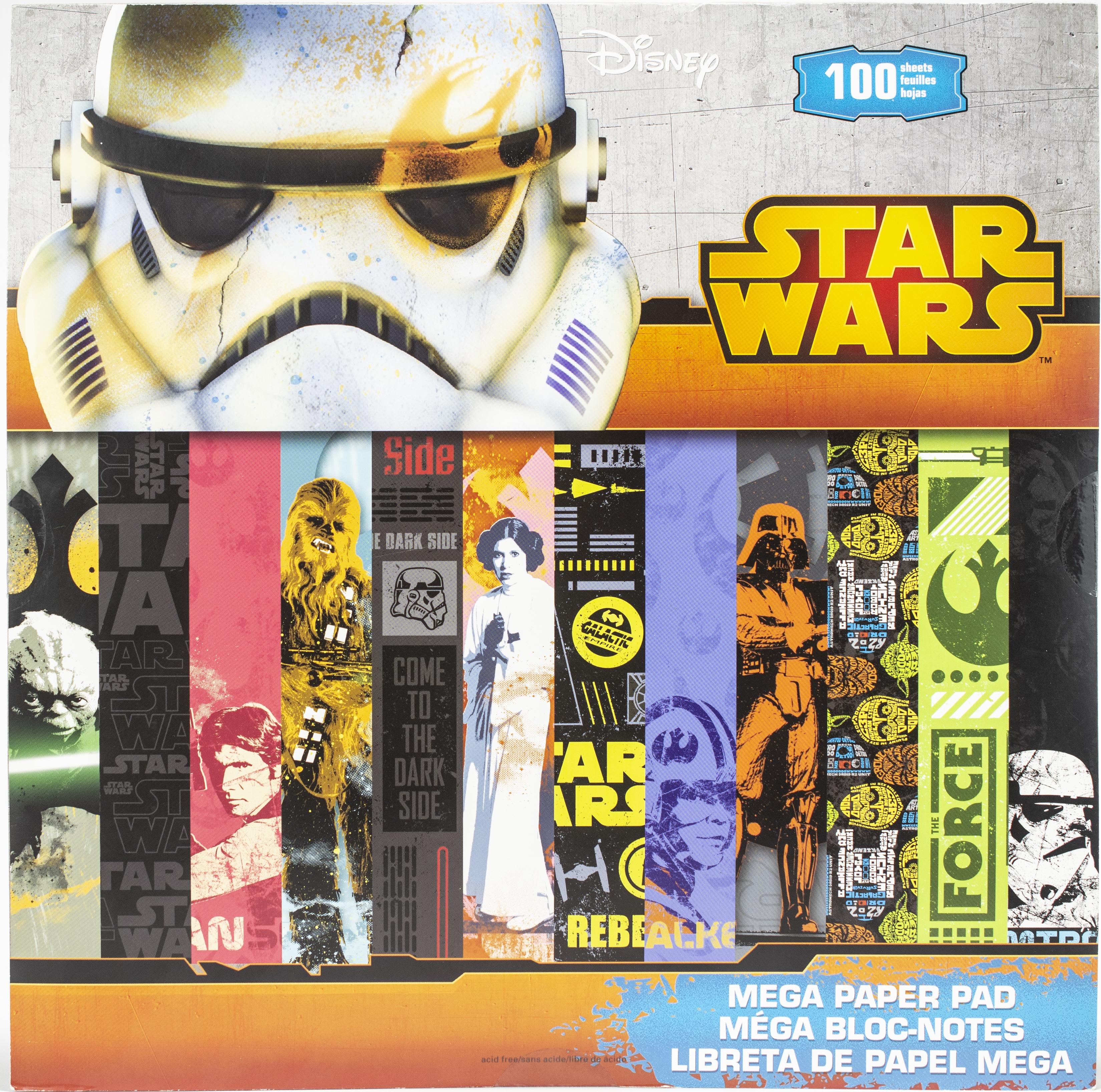 Star Wars Mega Paper Pad