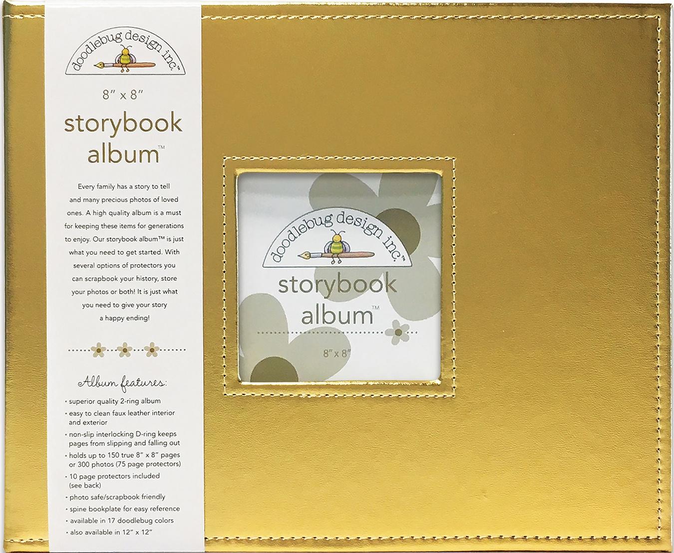 Doodlebug Storybook D-Ring Album 8X8