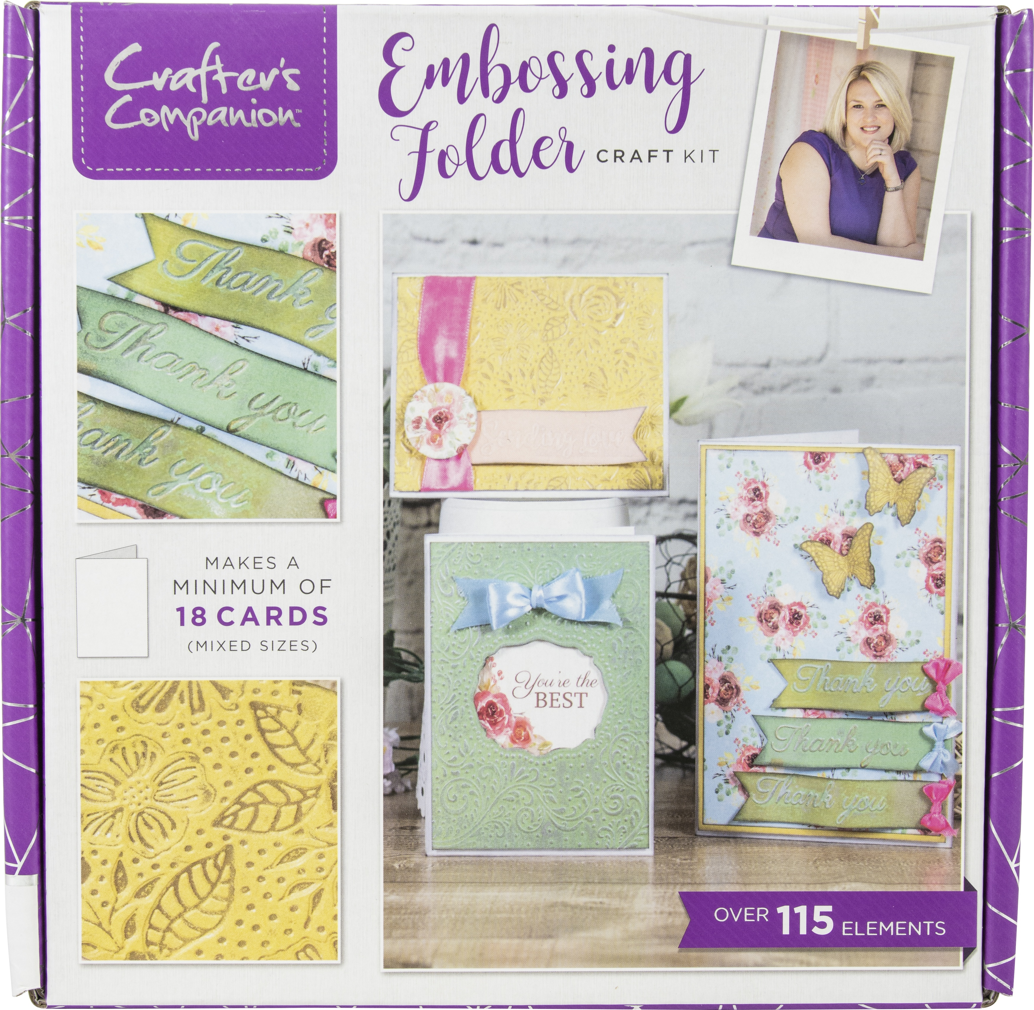 Crafter's Companion Craft Box Kit-Embossing Folders