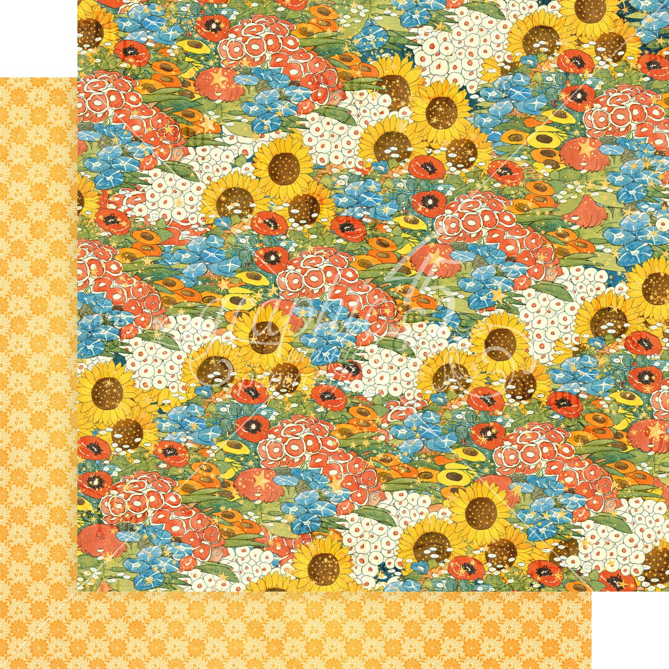 Dreamland-Blossom 12x12 paper