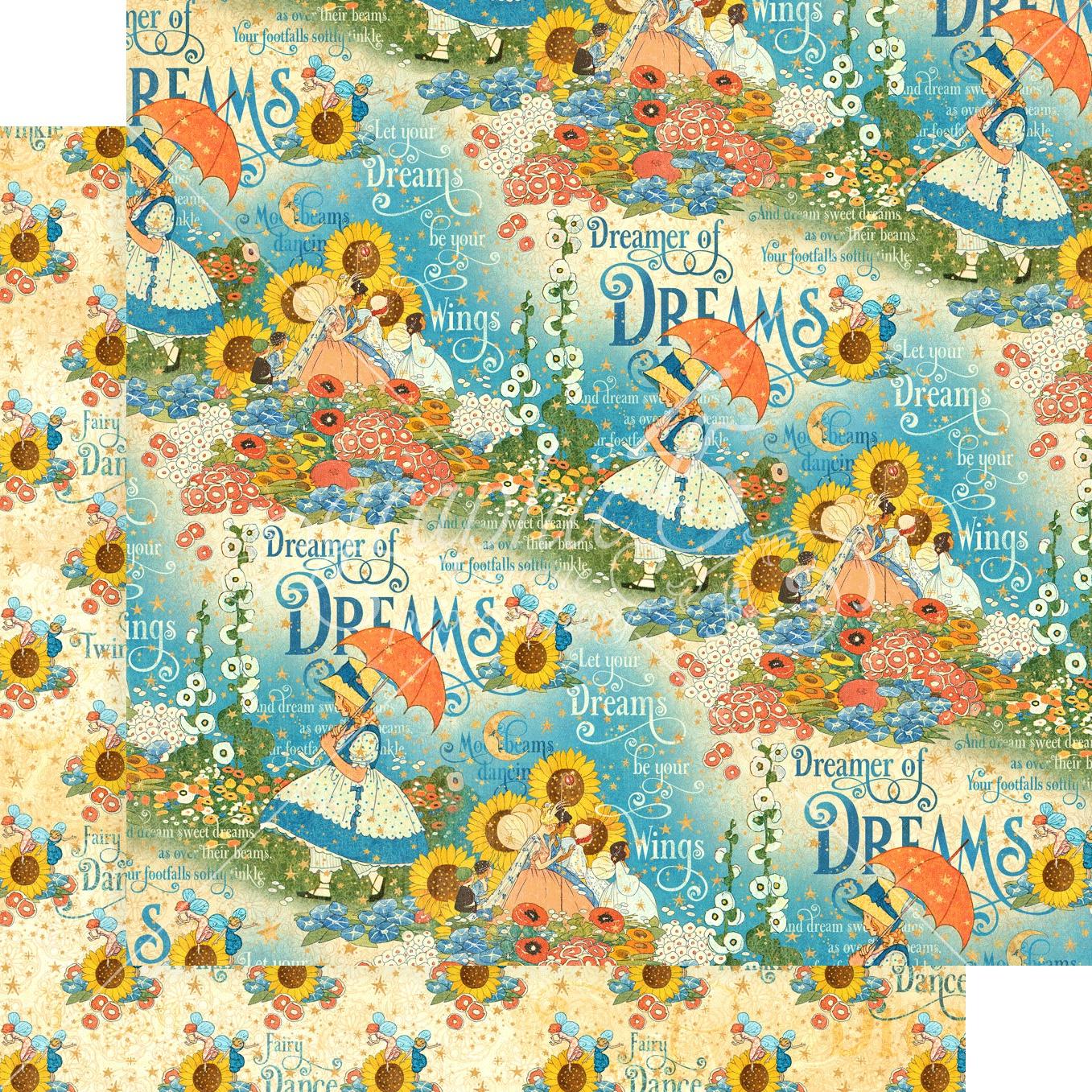 Dreamland-Enchanted Garden 12x12 paper