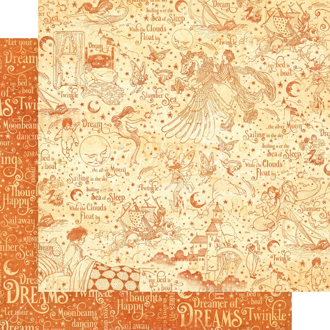 Dreamland-Slumber Sea 12x12 paper